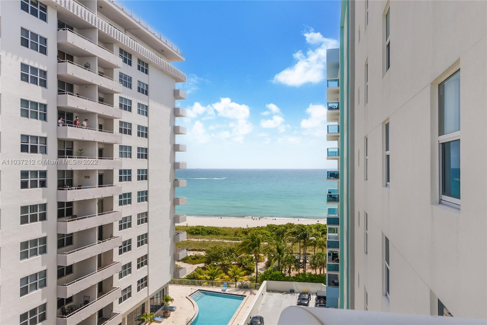 OCEAN FRONT!! Exclusive BOUTIQUE BLDG NW corner unit with 2 beds, 2 baths rarely on the market. Ocean and Sunset views galore. Open Kitchen, Large Master Bath and Walk in Closet. Great Building Amenities: 2 Heated Pools with Jacuzzi, Ocean Lounge, Chairs and Umbrella Service, Barbeque, Beach Volleyball, Gym, Billiard Room, WIFI in Common Area, Bike Storage. Walking distance to Bal Harbour Shops, Publix, Restaurants and much more. LIVING IN THE HEART OF SURFSIDE BEACH. Unit is occupied until August 30th, 2021. Special assessment $320,00 monthly until December 2023