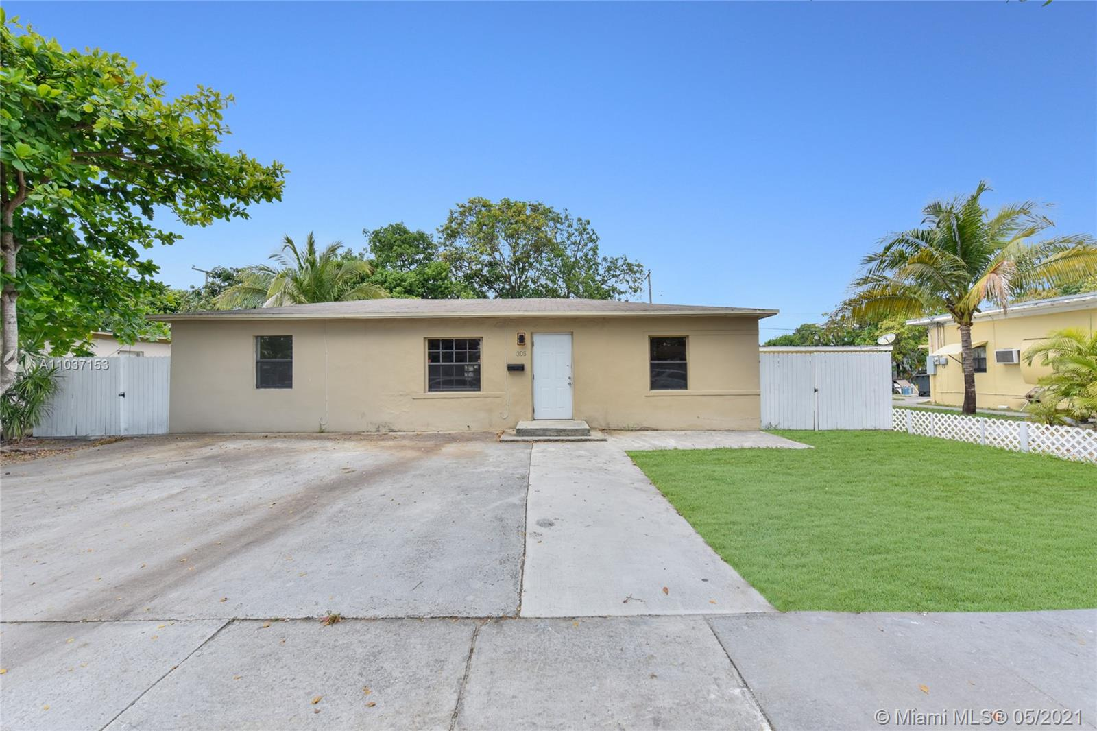 305 NW 135th St  For Sale A11037153, FL