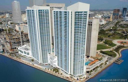 Unit is leased until June 29, 2021 for $3,300 per month. Great investment opportunity at the One Miami lower penthouse with three bedrooms/two bathrooms.