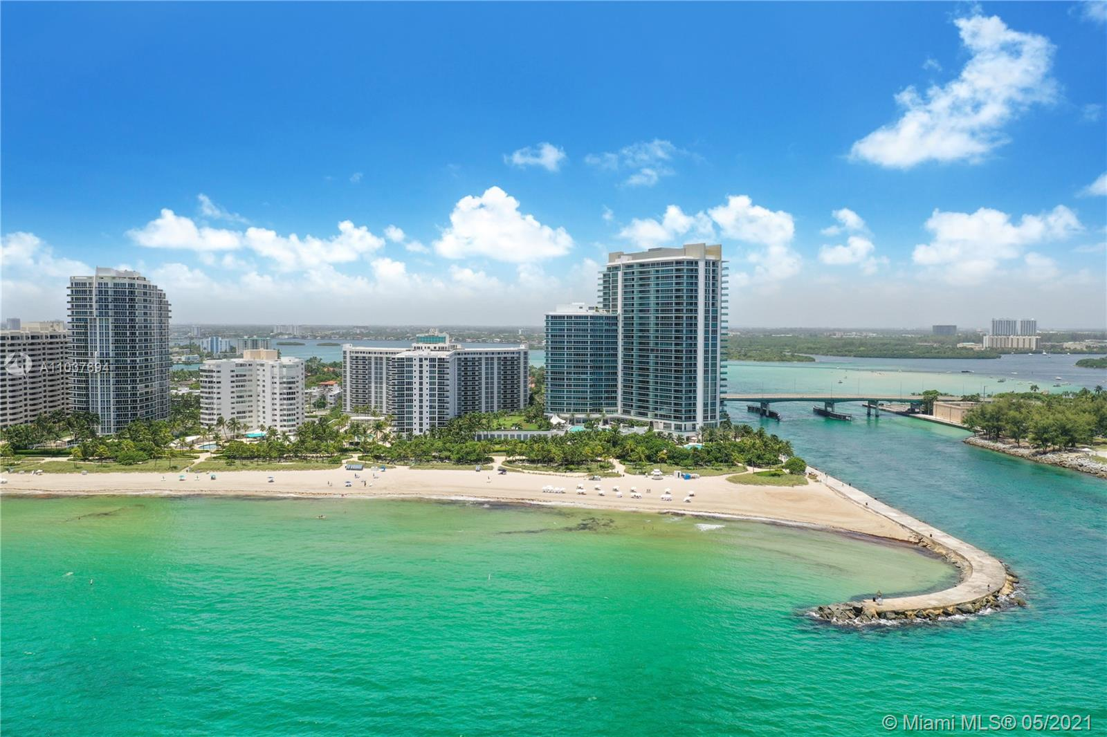 Located in the prestigious Ritz Carlton in Bal Harbour, this stunning 2 bedroom + den/office condo is the definition of luxury ocean front living. This designer finished residence boasts unobstructed views of the Atlantic Ocean, exquisite stone flooring though out, gourmet kitchen and a spacious master bathroom with a stand alone jacuzzi tub. Walk on the Beach or take a stroll down the street to the world famous Bal Harbour Shops. Enjoy the luxurious amenities of the Ritz Carlton Hotel, with the privacy of the Ritz Carlton Residences. Residents enjoy 5-star amenities including beautifully manicured gardens, 2 restaurants, beach service, juice bar by the pool, club room, movie theater and much more