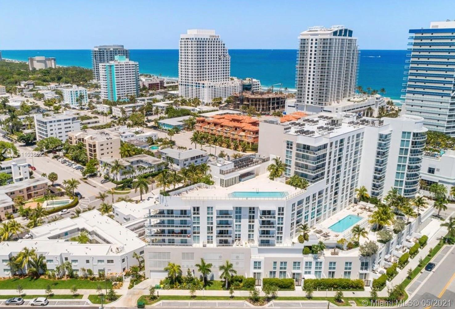 Spectacular 9th floor  2 bedroom facing South views of Bahia Mar fully furnished with Seven G package