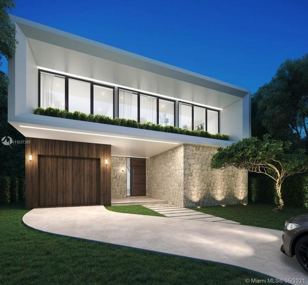 Modern and bright new construction home with 5 bedrooms and 5.5 bathrooms just steps from Historic South Miami Ave, Simpson Park, Brickell, and Coconut Grove. Lavish master suite with huge walk-in closet. Stunning architectural design throughout, high ceilings with floor to ceiling windows, modern finishes, Italian designer kitchen, high-end appliances, flooring, and fixtures. The expansive entryway leads to an open interior that is perfect for entertaining.  Venture outside to a covered terrace and summer kitchen while overlooking the pool and lush landscaping. Home is located in a cul-de-sac with easy access to I-95.  Estimated completion in 3rd quarter 2021.