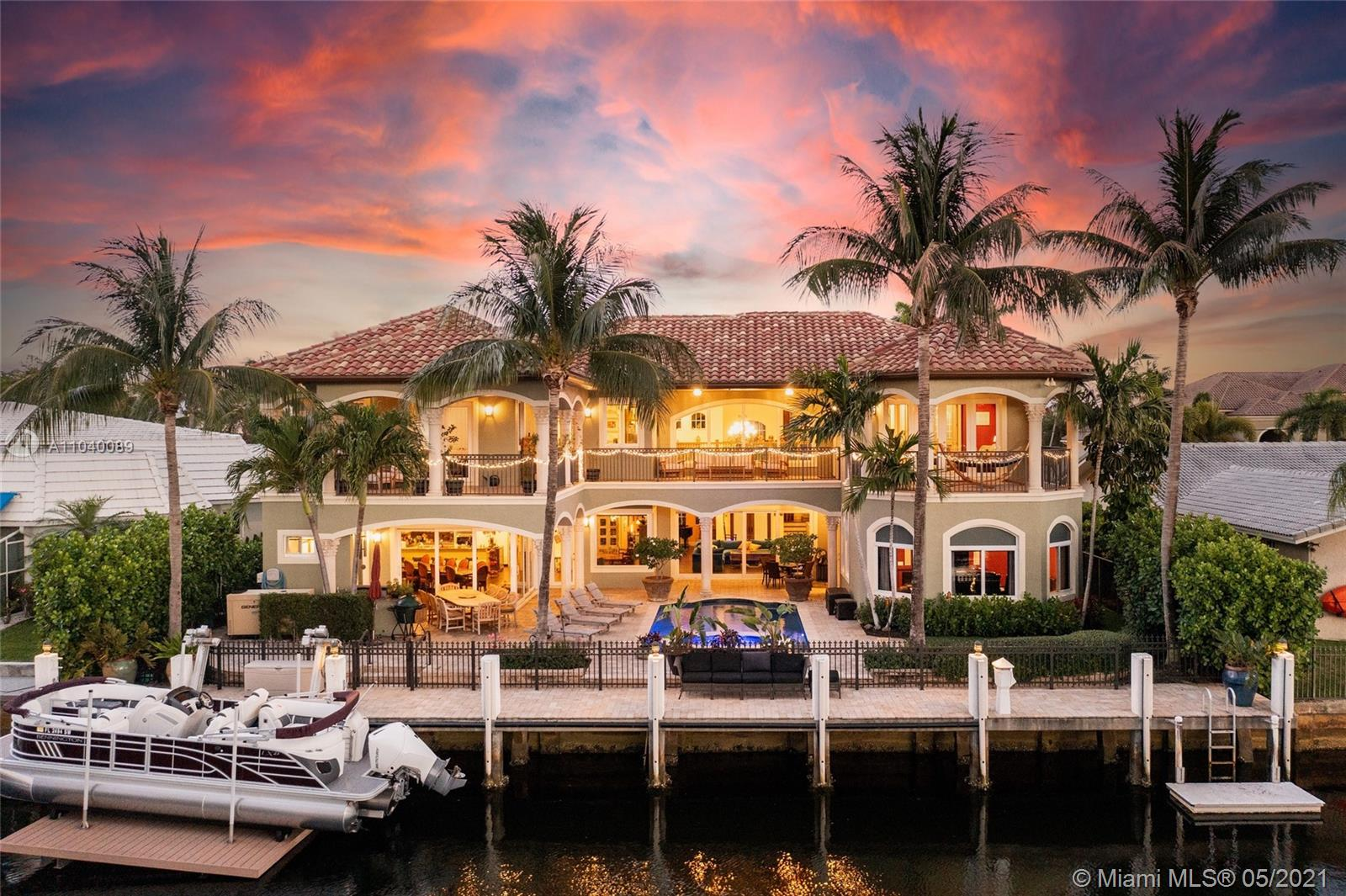Welcome Home to Your Palatial Waterfront Estate in sought after, The Landings. Enjoy 85' on a 140' wide canal with ocean access, no fixed bridges & boat lift. Experience the Ft.Lauderdale lifestyle with indoor / outdoor living provided by wall to wall hurricane impact sliders, pool, summer kitchen, sprawling pavered veranda & 2nd floor wrap around terraces. This spectacular home features soaring ceilings where natural light abounds, gourmet kitchen, home theater, sauna, elevator, whole home generator, whole home water filtration system & laundry rooms on both floors. New flooring throughout, new bath suites, new tankless water heater & natural gas! Make this home your own.***Buyer's financing fell through, home appraised.***