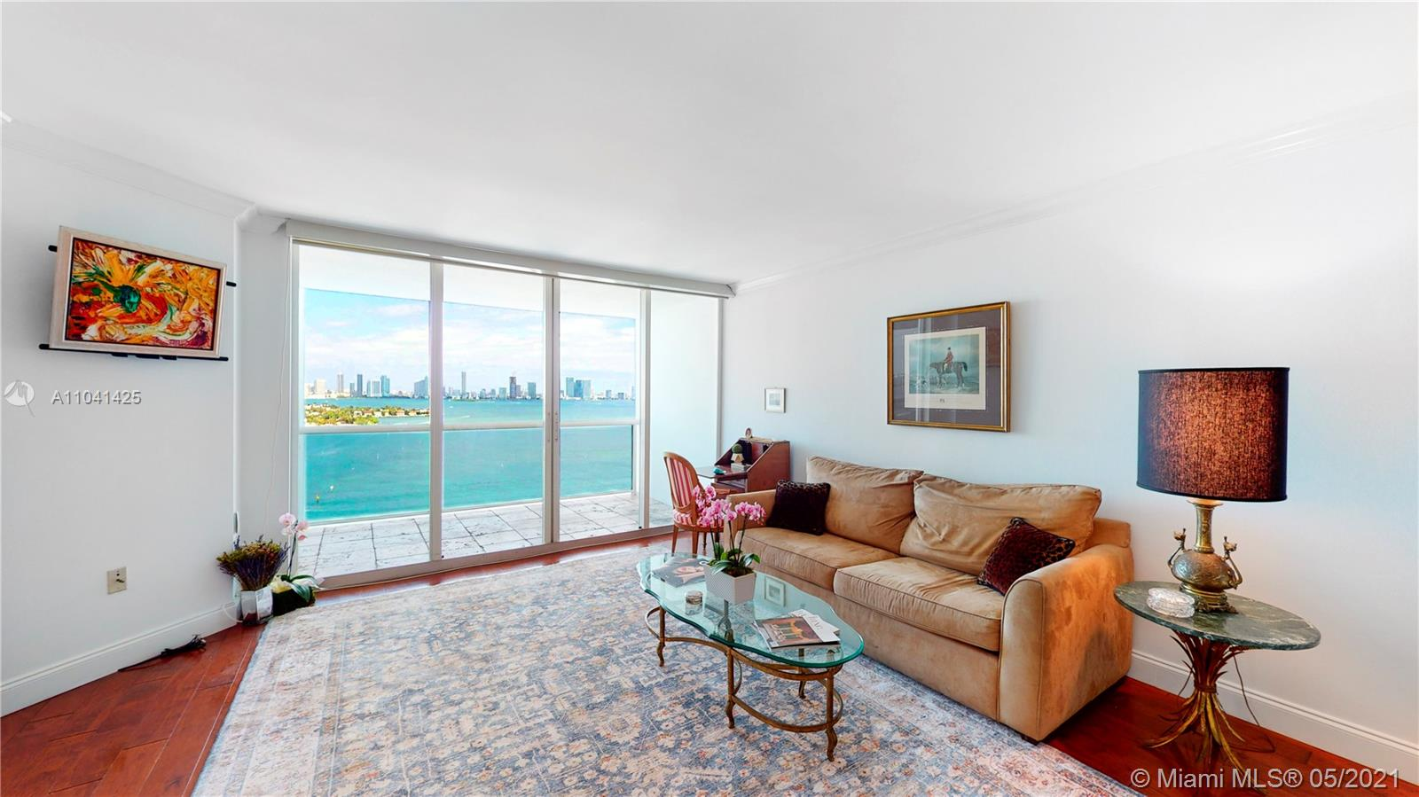 Rare opportunity to create your dream home from this 23rd floor west facing condo. Every room has spectacular unobstructed views of Biscayne Bay and the Miami Skyline. Condo features include 2 spacious bedrooms,  2 1/2 bathrooms, open kitchen, alarm and sunset facing balcony. Sunset Harbour is a full service building that offers on site management, 24 hour security, valet, gym, pools, hot tub and attached private marina. Located in one of Miami Beach most sought  after community walkable to great shopping, supermarkets, restaurants, coffee shops, gyms and yoga studios  One deeded parking space is included. Easy to show call or text listing agent.