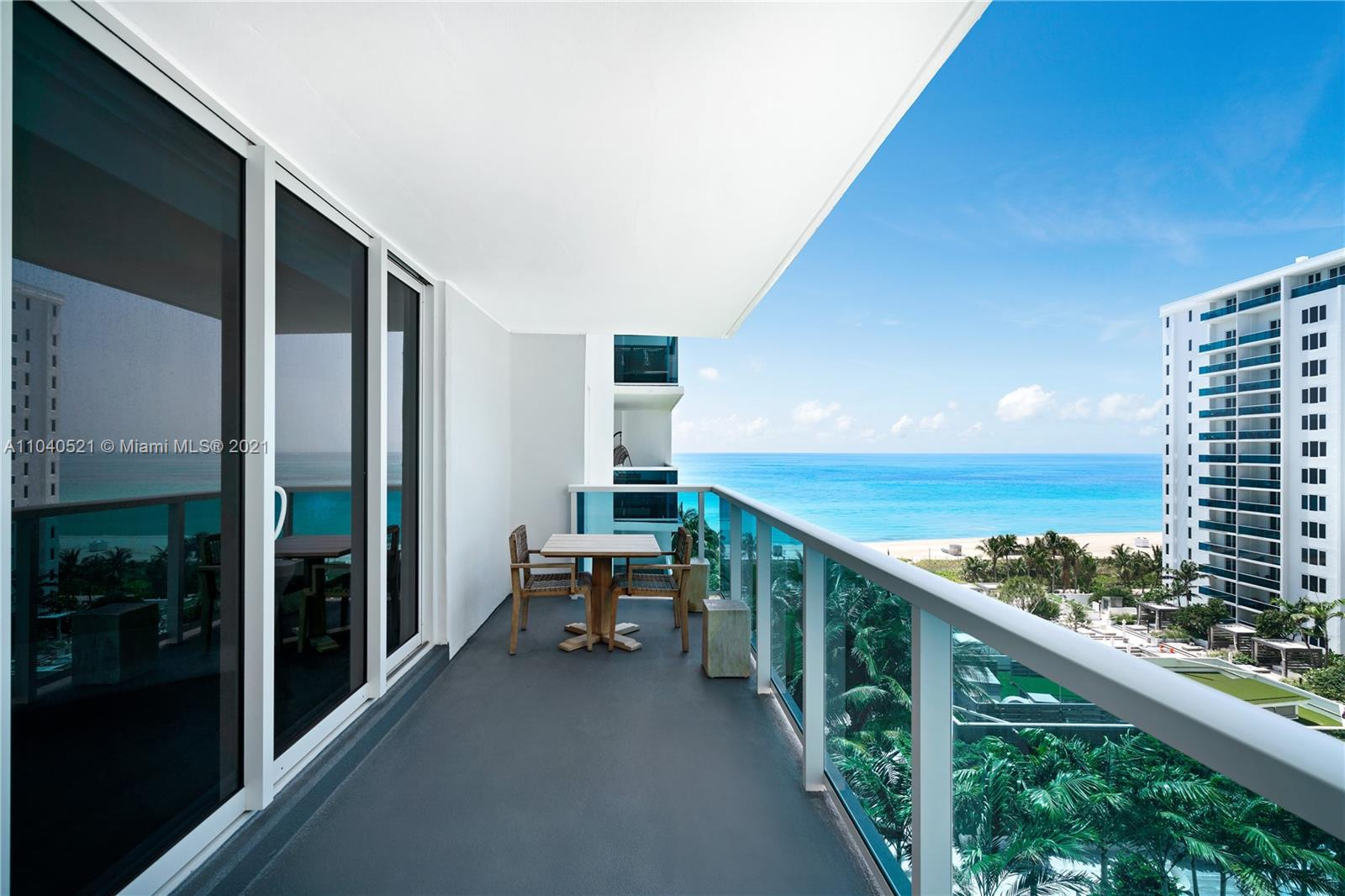 Experience 5-star resort living at 1 Hotel in Miami Beach! This beautiful 3br/3bth, plus a den/office unit has a large living room w/open kitchen & dining area, a long terrace facing south, offering ocean & pool area views. Furnished with modern high-end furniture, all rooms equipped w/smart TV's, large closets, & luxe limestone baths. 1 Hotel is located on the sandy beaches of Millionaire's row – Collins Avenue, offering prime location & white glove service. Amenities include: 4 pools, 4 restaurants, 3 bars, 14,000 SF gym, spa & hair salon, Soul Cycle, chauffeured Tesla, private residence lobby, valet, concierge, & more. Rental includes linens & towels, toiletries, dishes, pots & pans, daily coffee & tea, full use of all the hotel amenities. Long term rental only.
