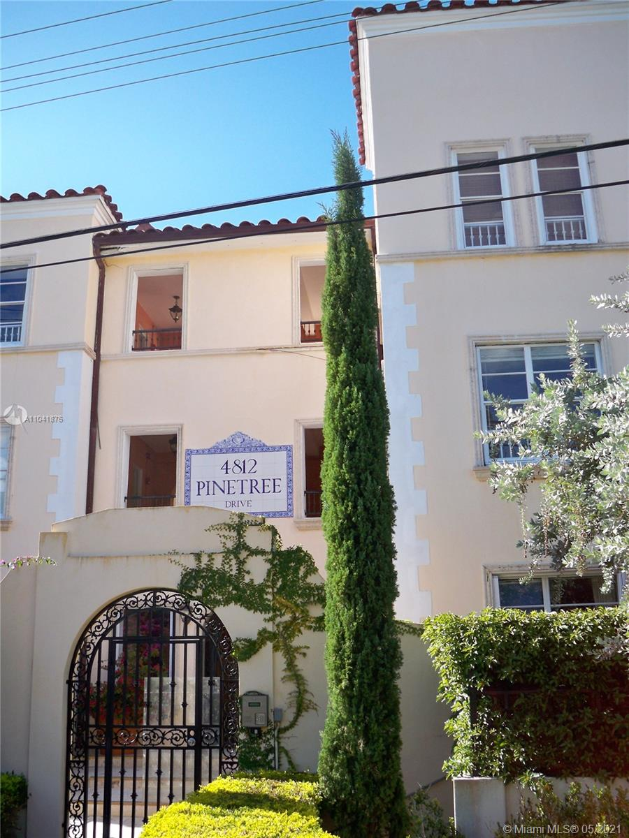 4812  Pine Tree Dr #207 For Sale A11041876, FL