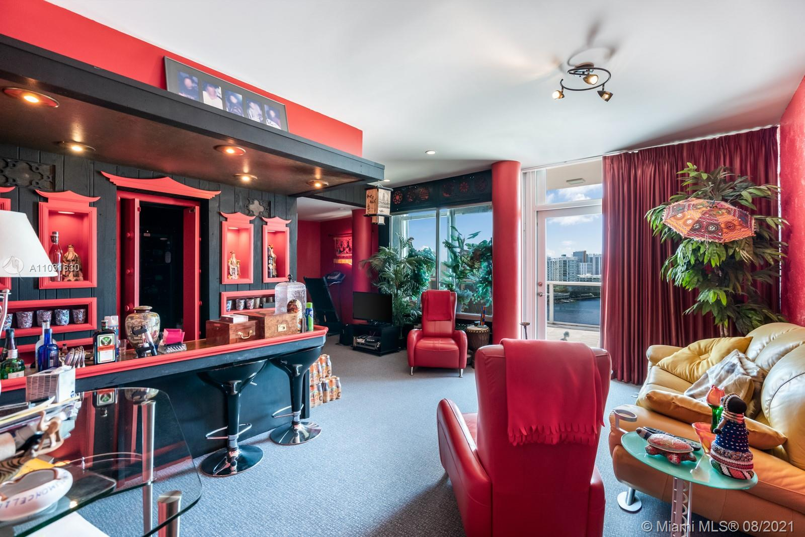 Marvel at the spectacular views of the Intracoastal, Atlantic Ocean, and Miami skyline from this beautiful 3 br, 2.5ba penthouse located in Normandy Isle. Living areas feature custom marble flooring. Master bed includes his & her walk-in closets, guest bed has full ensuite, while third bed boasts sweeping oceans views. Spacious balcony provides plenty of room to lounge and enjoy the sunrise. The full amenity condo provides an Olympic size heated pool, 24-hour valet, gym overlooking the water, a marina & more.
