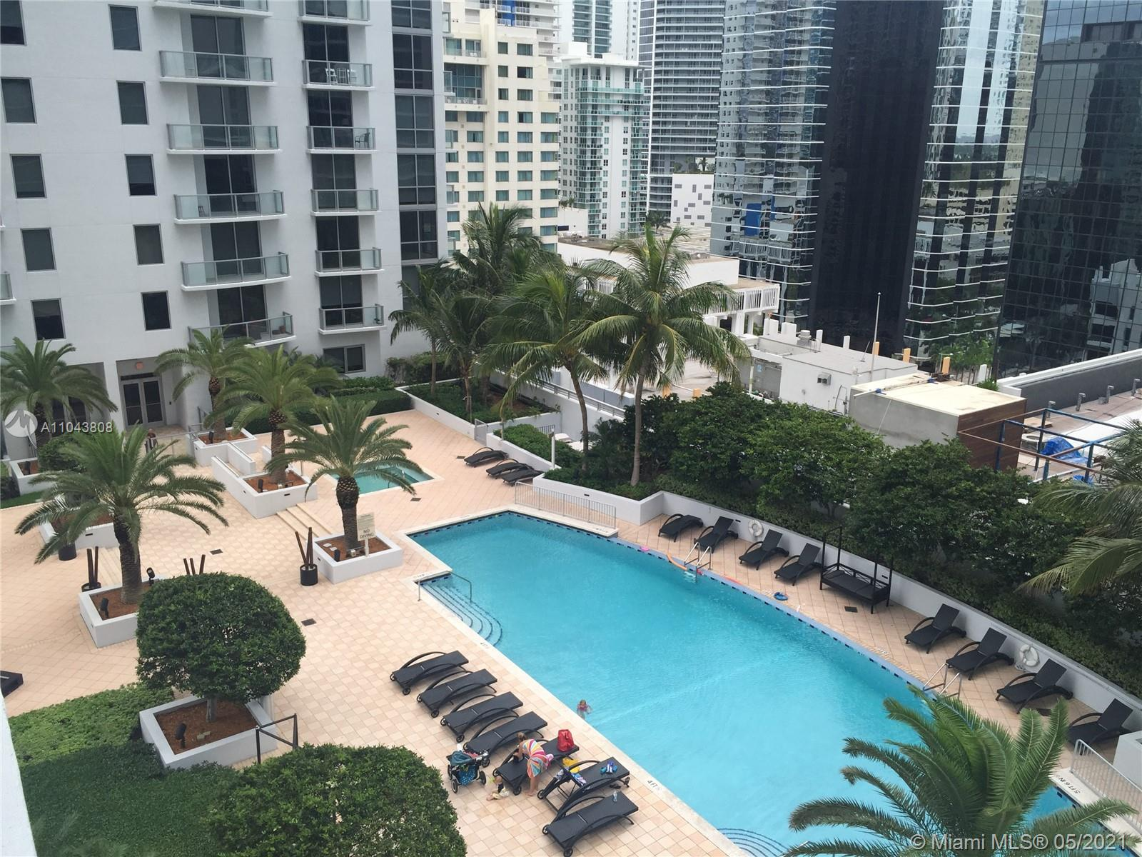 Spectacular studio in the hear of Brickell with ALL INCLUDED!! Internet, cable and FPL. Ready to move in!!! Completely remodel unit, exquisitely decorated with top of the line finishes.
