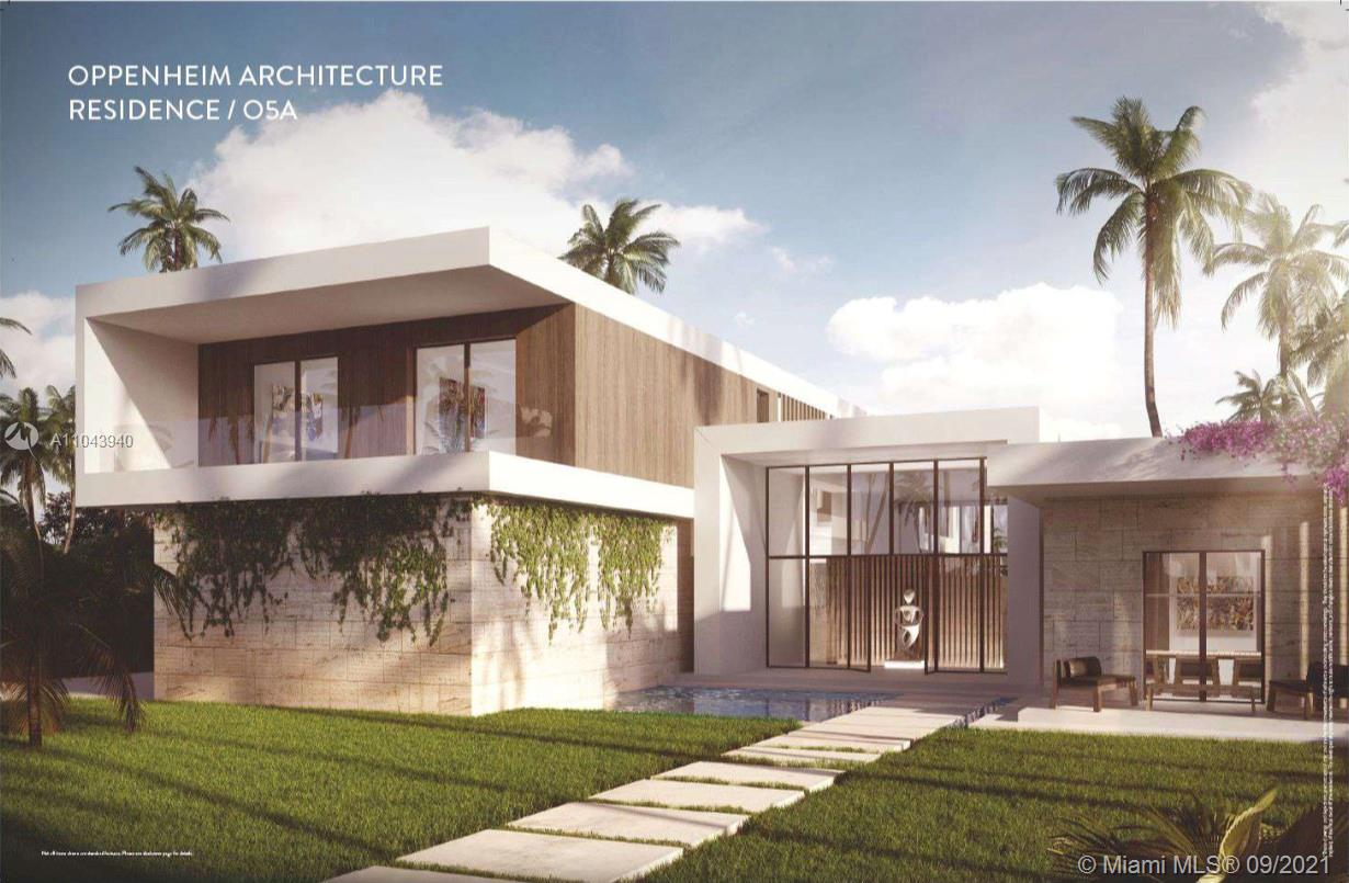 Pre-Construction - Nestled within the exclusive private enclave of Botaniko Weston, the O5A is located in one of the most desirable cities in South Florida & designed by world renown architect Chad Oppenheim. This remarkable 9,534sf masterpiece blends minimalism with environmentally harmonious architecture. The spacious open floor plan radiates with natural light and provides over 7,000sf of A/C, 6 ensuite bedrooms, 8.5 total bathrooms, media room & staff quarters. Chef-inspired kitchen equipped with Sub-Zero & Wolf appliances, Italkraft cabinetry and quartz countertops. Escape to your private outdoor oasis, complete with oversized 20x40 pool and summer kitchen. 4 car garage. A+ schools.