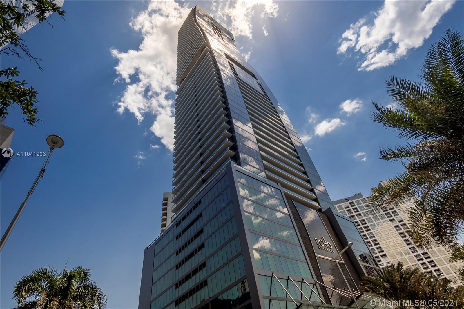 Stunning unit with NO OBSTRUCION VIEW, it comes with STORAGE ( 4ft x 4ft) Echo is the most exclusive and luxurious boutique building in the heart of Brickell, only 170 units. Designed by Carlos Ott and yoo STUDIO. Luxurious 1 bed/1.5 bath with direct ocean view. . **AVAILABLE FROM JULY 15th / 2021* Marble floors, built out closets, Italian glass cabinetry & the latest Wolf, Bosch, Sub-Zero kitchen appliances w/built-in espresso maker. Spacious terrace w/outdoor summer kitchen. Integrated audio and video. Up Grades from Black outs , electric shades in the master and living room.