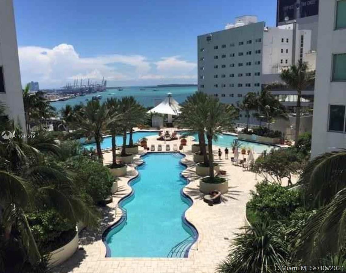 LOCATION!! LOCATION!! LOCATION!! Beautiful apartment in DOWNTOWN. In front of BAYSIDE MALL, 2 blocks from the MIAMI ARENA STADIUM. Wonderful building with all the amenities. Pool, Jacuzzi, Spa, Gym, Business Center, Etc. It is like a Resort Living. 2 Gorgeous bedrooms with 2 full bath. Don't loose it. For showings. text listing agent. It is rented until end of MAY 2021.Equal Housing Opportunity.