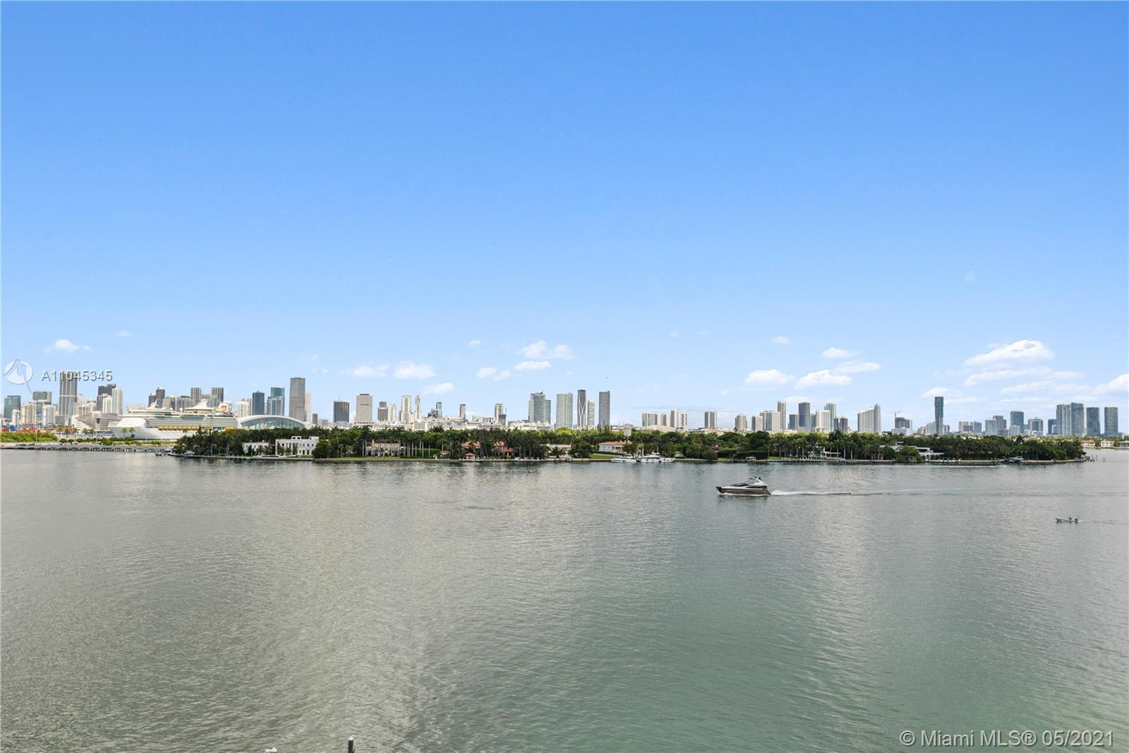 Experience unsurpassed views of Biscayne Bay, Star Island & Downtown Miami. This 1 bed 1 bath (776 SF) unit features floor to ceilings windows, chef kitchen, designer bathroom & private terrace. This full service luxury building offers 24hr security, valet, concierge, fitness center & heated pool & spa. World class dining, entertainment & brilliant beaches are minutes away.