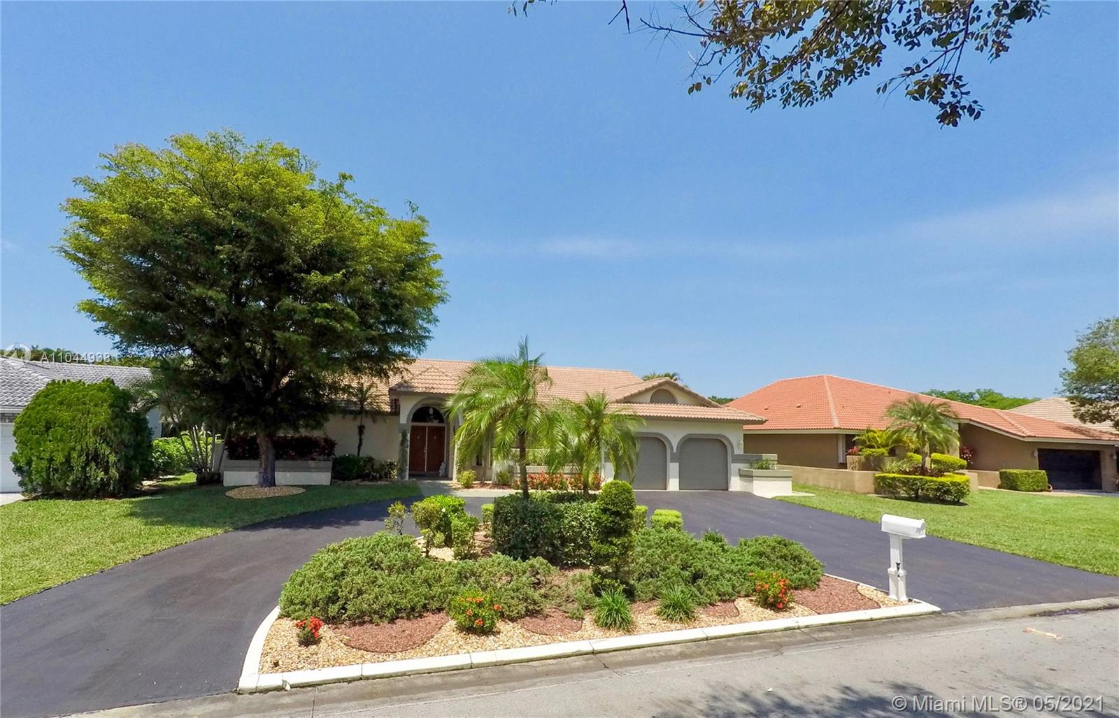 4766 NW 91st Way  For Sale A11044938, FL