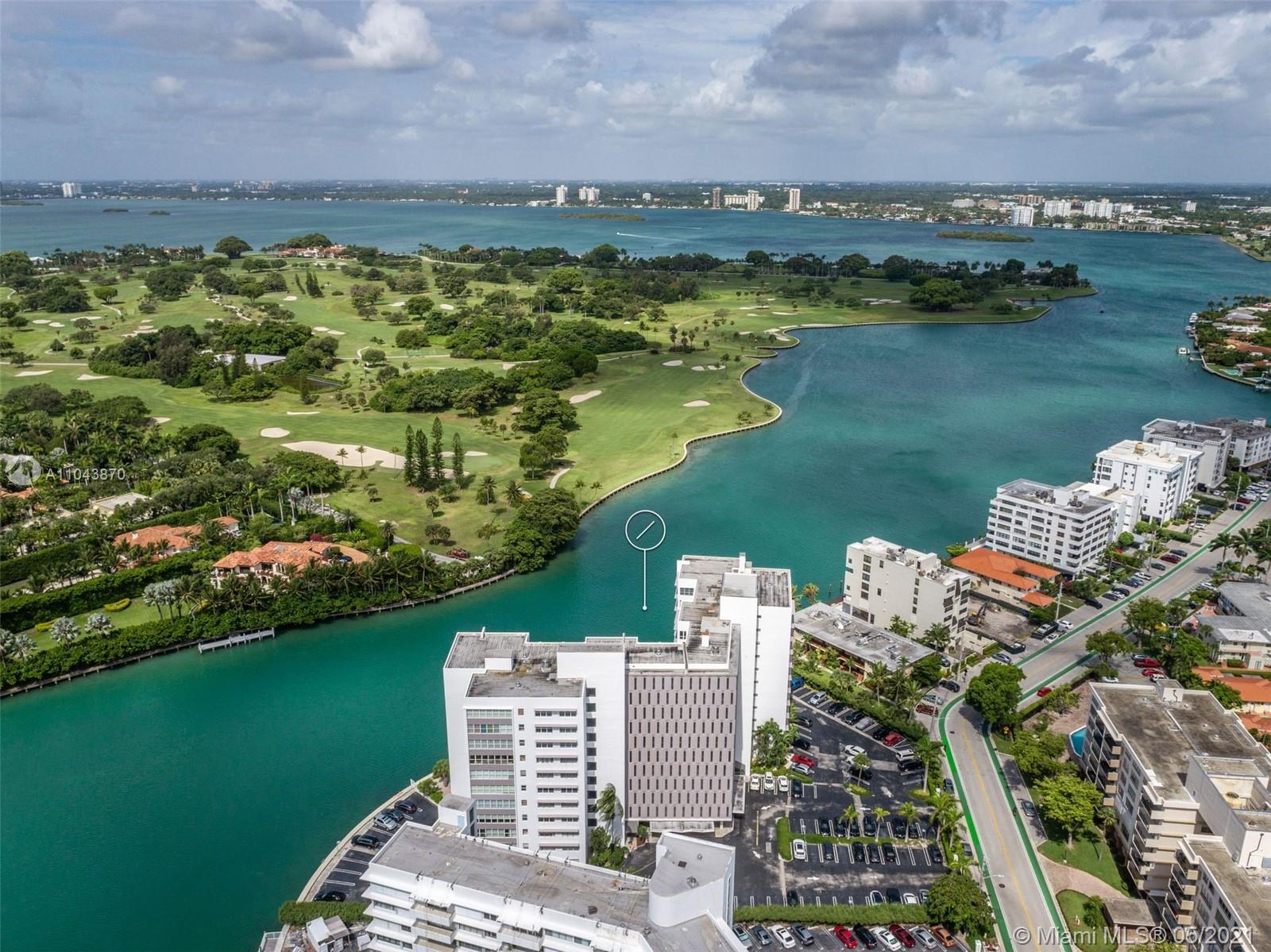 Enjoy spectacular views from this 1,770sf 2 bed/2.5 bath corner unit. Completely renovated with all the modern finishes. Updated kitchen with stainless steel appliances. Open floor plan allowing you to see Biscayne Bay, Indian Creek Country Club, Miami skyline and more. LED lighting. Conveniently located to Bal Harbor Shops, Surfside and the beaches. Community boat dock.  A rated K-8 public school 2 blocks away. HOA includes AC and hot water.