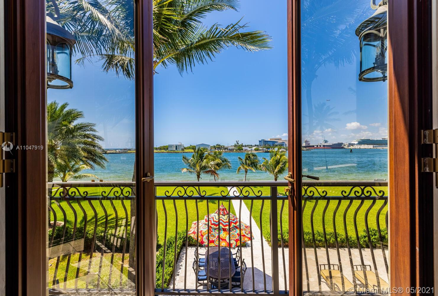 Just minutes from the heart of Ft. Lauderdale, this 4 Bedroom/5 Bathroom estate has floor the ceiling windows that look out over the Intracoastal and ocean. Exquisite interior featuring large dine-in kitchen, state of the art gym, and 2 master bedrooms upstairs with unobstructed ocean views. Available for weekly, monthly, and annual. A 44ft Zeelander Yacht is also offered just moments away for use while renting this estate (additional fees apply).