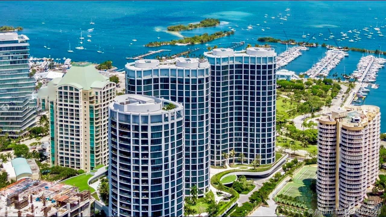 Just steps from Biscayne Bay in Miami's newest and most exclusive luxury waterfront development, Park Grove, this luxurious, fully-furnished 2/2 condo + den in the popular 02 line of the Club Residences is fit for a king!  Located in coveted Coconut Grove, with elevated ceilings (10 ft.), high-end floors, and huge 400+ sq. ft. private terrace with views of the bay.  Gourmet kitchen with Wolf & Subzero appliances and marble countertops! The building features a private rooftop pool with over 550 ft. of pools in the main amenities center, state-of-the-art gym and spa, and world-class amenity package!  Walking distance to the marina, world-class dining, shopping, and a short ride to the beach!  Luxury living with resort-style amenities at Park Grove!  Call/Text Listing Agent to show.
