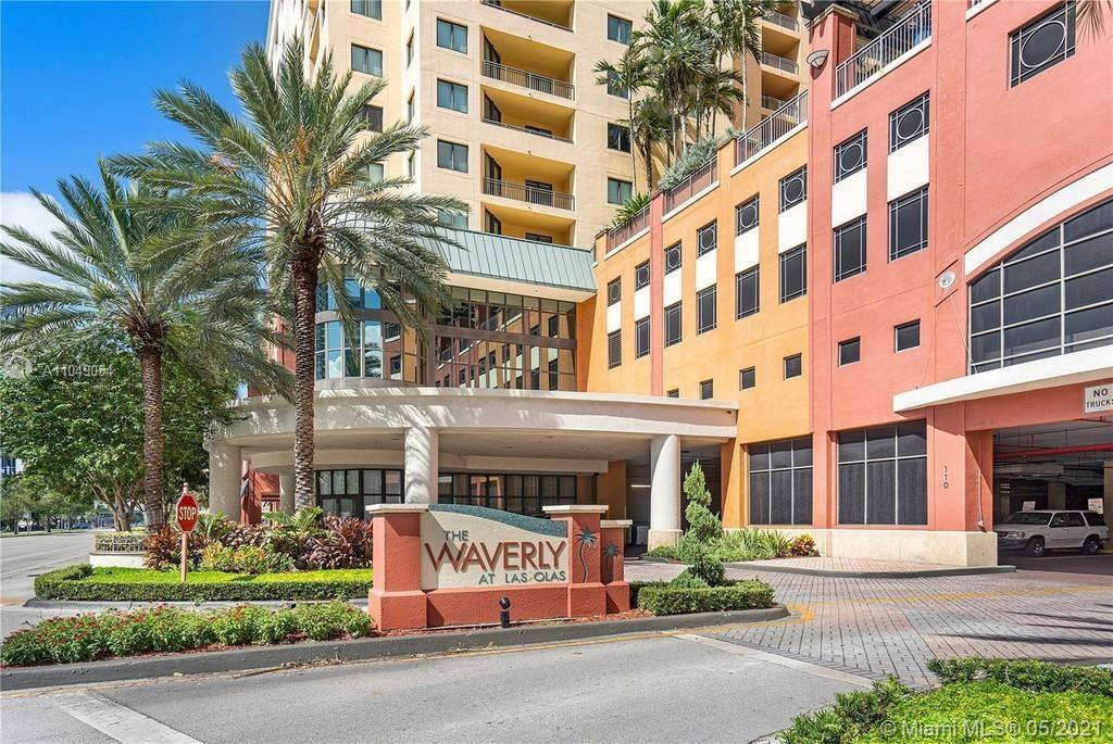 Bright and beautiful 2 bedroom, 2 bath, apartment in downtown Fort Lauderdale. Enjoy the amazing city views such as a neat garden with the infinity pool from the large balcony. This building is conveniently located just three blocks from Las Olas Blvd, near Financial District, Brightline station, coffee shops, bakeries and restaurants. Close to the Beach and Fort Lauderdale Airport. Waverly has a chic club lounge, full gym, heated pool and spa, 24/7 concierge to greet your guests and accept their packages, 24 hours security, and valet parking. Pet friendly. Equal Housing Opportunity.