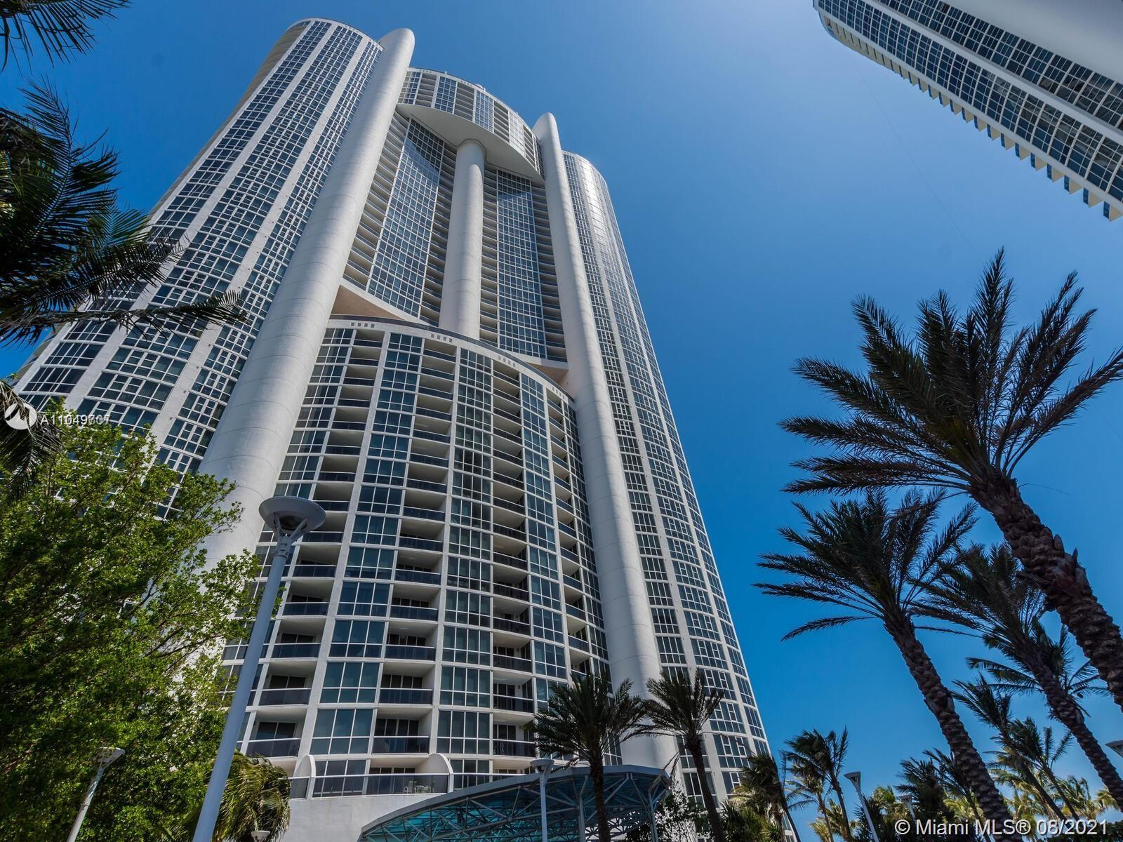 1 bed / 1.5 bath with Intracoastal and partial ocean view, is offered fully furnished, washer and dryer, balcony and valet parking. It can be purchased with unit 1109 which has 4000 sqft.  Enjoy Trump's 5-star resort style living with 3 on-site restaurants, 24/7 room service, concierge, beach club, 3 pools, 4 hot tubs, tennis courts, dog park, luxury spa, gym, free valet.