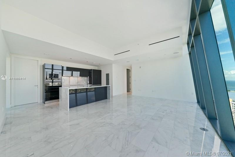 Exquisite North-west facing 2BR/2.5BA unit with Bay views at the new prestigious Echo Brickell. This stunning unit features Italian kitchen cabinetry with Sub-Zero and Wolf appliances and built-in Espresso machine. Smart iHome System controlling audio, video and lighting systems. High ceilings. Built-in Speakers throughout. Sheer shades and blackout window treatments. Full size Washer & Dryer in unit. Expansive terrace with built-in BBQ and Wine freezer. Echo features an infinity-edge pool, state-of-the-art gym and spa, 24/7 concierge, valet and security, complimentary Chauffer Service, pet walker and more! Walking distance to all of Brickell's restaurants, shops and nightlife