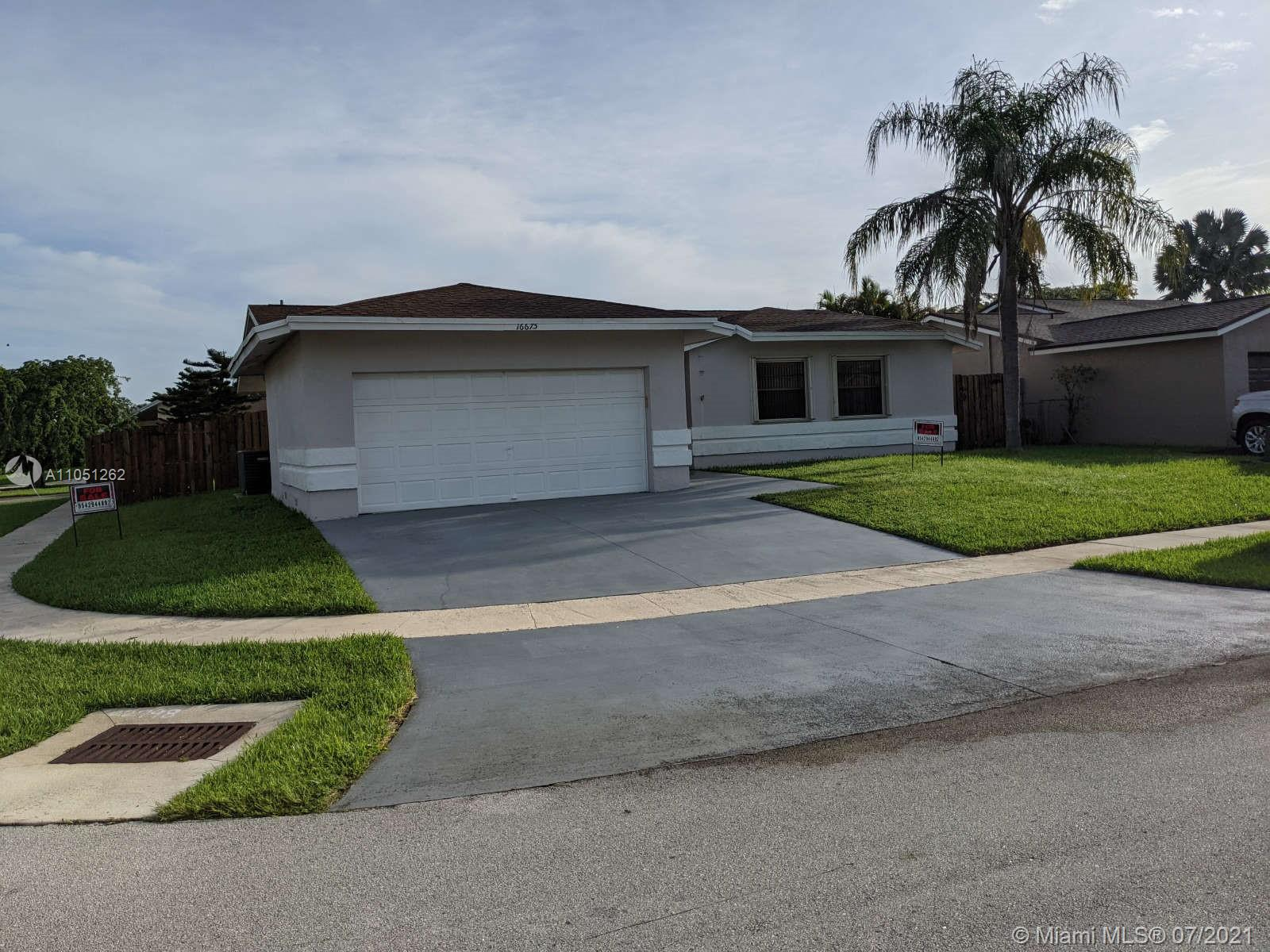 16675 SW 5th Way  For Sale A11051262, FL