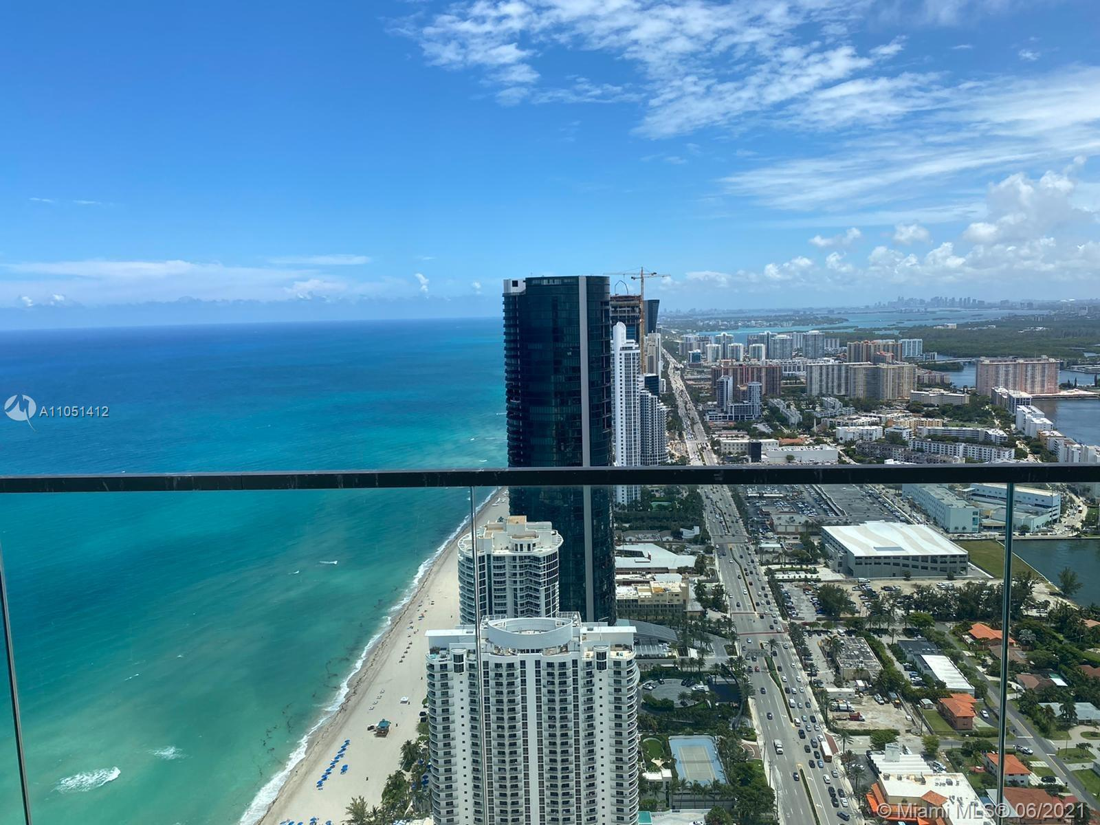 COMPLETELY BRAND NEW 2 BED + 2 BATH LUXURY CORNER UNIT WITH WEST FACING AMAZING VIEWS OF INTRACOASTAL, DOWNTOWN MIAMI, AND OCEAN VIEWS FROM OVERSIZED WRAP AROUND BALCONY OF 1,123 SQ FT.   INTERIORS IS 1572 SQ FT. LOFT CEILINGS, SEMIPRIVATE FOYER, SUBZERO FRIDGE, AND WOLF APPLIANCES, OUTDOOR ELECTRIC BBQ WITH REFRIGERATOR, NEWLY LUXURIOUS AND ELEGANT OCEAN FRONT ARMANI TOWER WITH LOTS OF AMENITIES- BAR, CLUB ROOM, GYM, SPA, CIGAR AND WINE ROOM, KIDS ROOM, THEATER, RESTAURANT,AND FULL RESORT STYLE WITH POOL AND BEACH SERVICE. EASY TO SHOW!