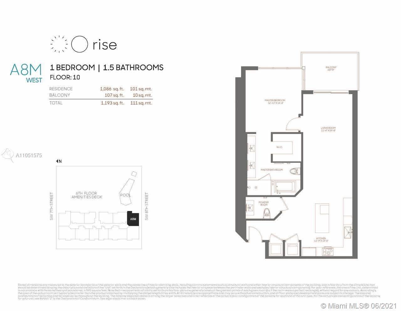 88 SW 7th St #1001 For Sale A11051575, FL
