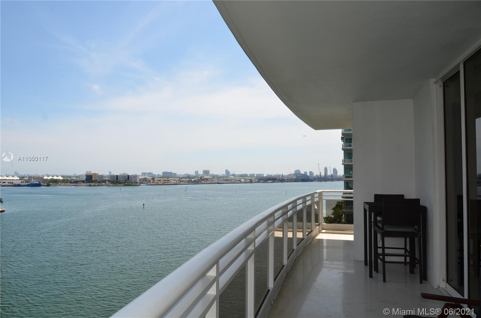 UNIT IS RENTED UNTIL APRIL 19TH 2022. Stunning views of outdoor/ocean life can be seen from every room and balcony in this luxurious 3 bed, 2.5 baths, condo in Brickell Key. Master bath remodeled. Unit has top-of-the-line appliances, walnut artesian wood floors throughout and marble floors in all bathrooms. Extensive amenities include a modern gym, racquetball courts, tennis courts, swimming pool, indoor playground, party room and 24-hour valet, concierge and security. Centrally located. Minutes away from Brickell Financial District, Mary Brickell Village, Brickell City Centre, Metrorail, Metro Mover and all major highways.