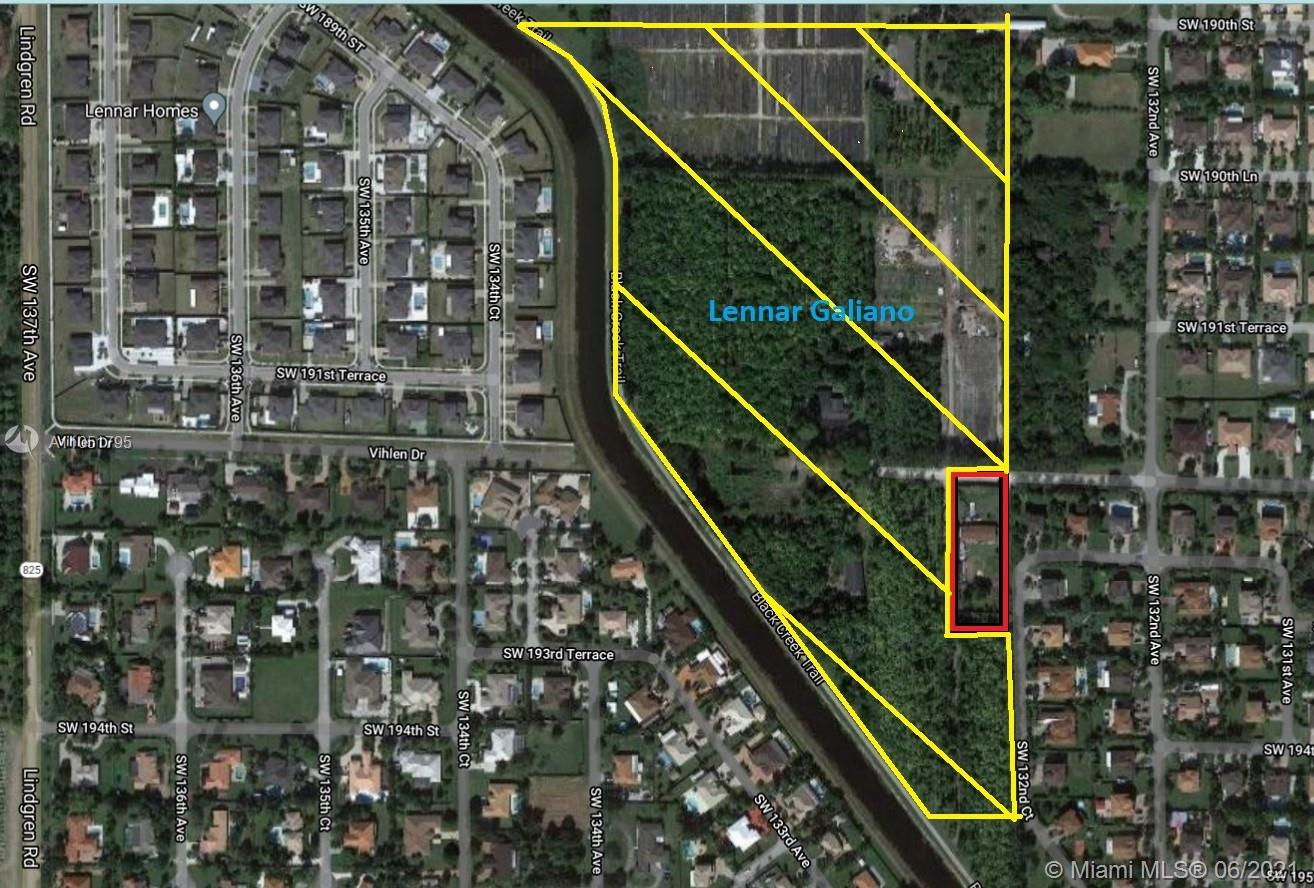13280 SW 192nd St  For Sale A11051795, FL