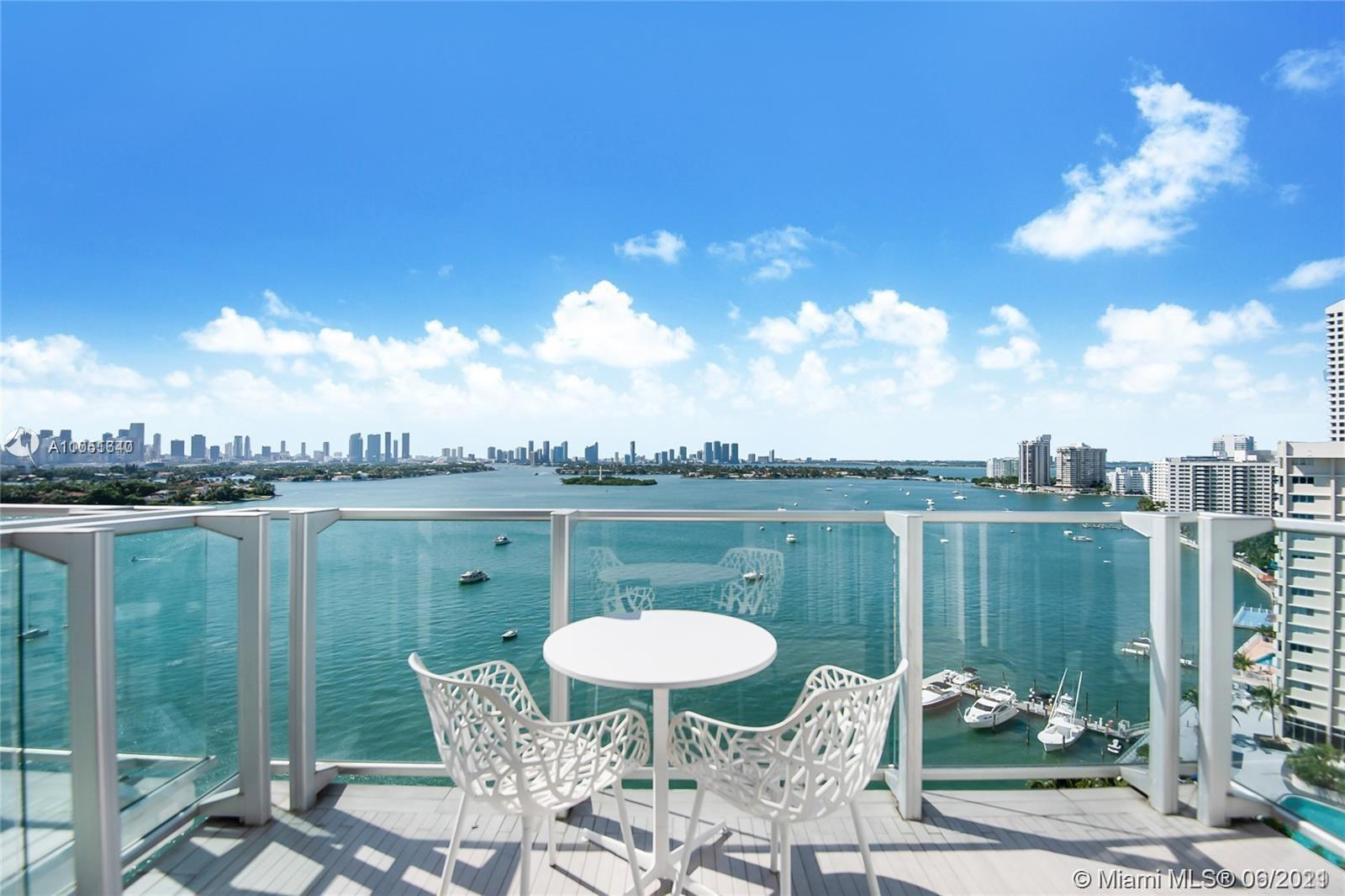PENTHOUSE suite residence in the famous Mondrian South Beach. Fully Furnished & TURNKEY with a BAYFRONT BALCONY and Breathtaking Intracoastal, City and Sunset views. This unit allows AIRBNB, OR HANDS FREE CONDO-HOTEL PROGRAM. Rents from $270-$850 per night. The building just completed a $20 million renovation in the lobbies and pool areas that was featured in Haute Living Magazine. One of the most significant changes to the property is the new indoor-outdoor bar and Baia Beach Club. Amenities include: indoor/outdoor bar, Baia Beach Club, HIS AND HER SPA, 24-H GYM WITH STUNNING BAY VIEWS, CONCIERGE SERVICE, VALET PARKING, INDOOR- AND OUTDOOR RESTAURANTS AND BARS. MUST SEE!