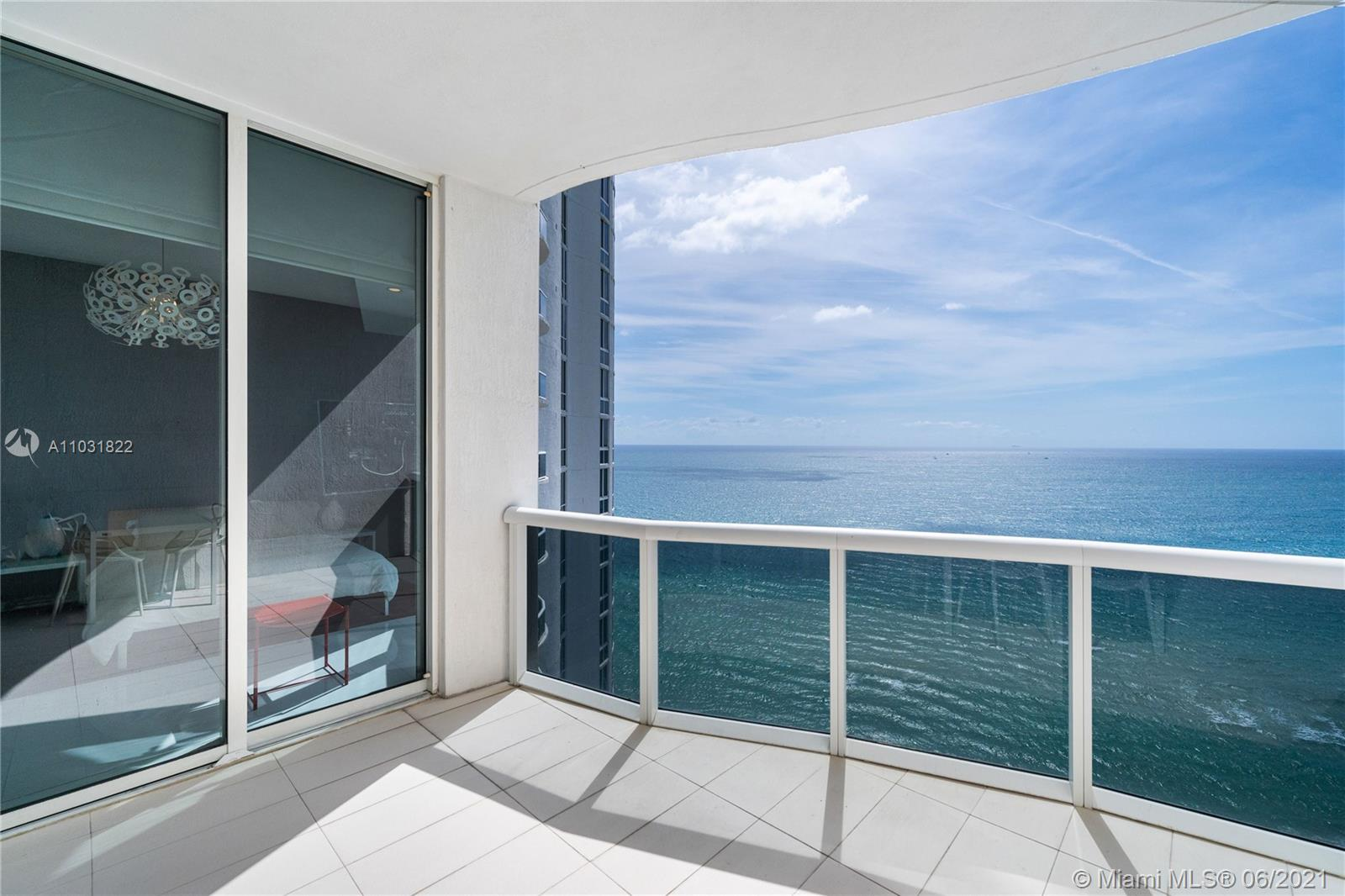 Come see  2006  this magnificent Jewel, fabulous decor, elegantly appointed,  Over 10ft. ceilings with direct ocean & intracoastal views  floor to ceiling windows, this flow through residence gets warm natural sunlight from sunrise to sunset, on 4 balconies,  with Miami skyline views from the master bathroom suite.   Enjoy many amenities in this 5 star luxurious tower,  Full spa gym,  two level fitness center, steam & sauna, concierge services with a beach club and restaurant services.  Most desirable location, in Sunny Isle, 3 min from  Bal harbour shops, centrally located from Miami and Ft Lauderdale, Sunny isle has the most beautiful clean beaches, several parks in walking distance and many shops to walk to .  Must see this True beauty !