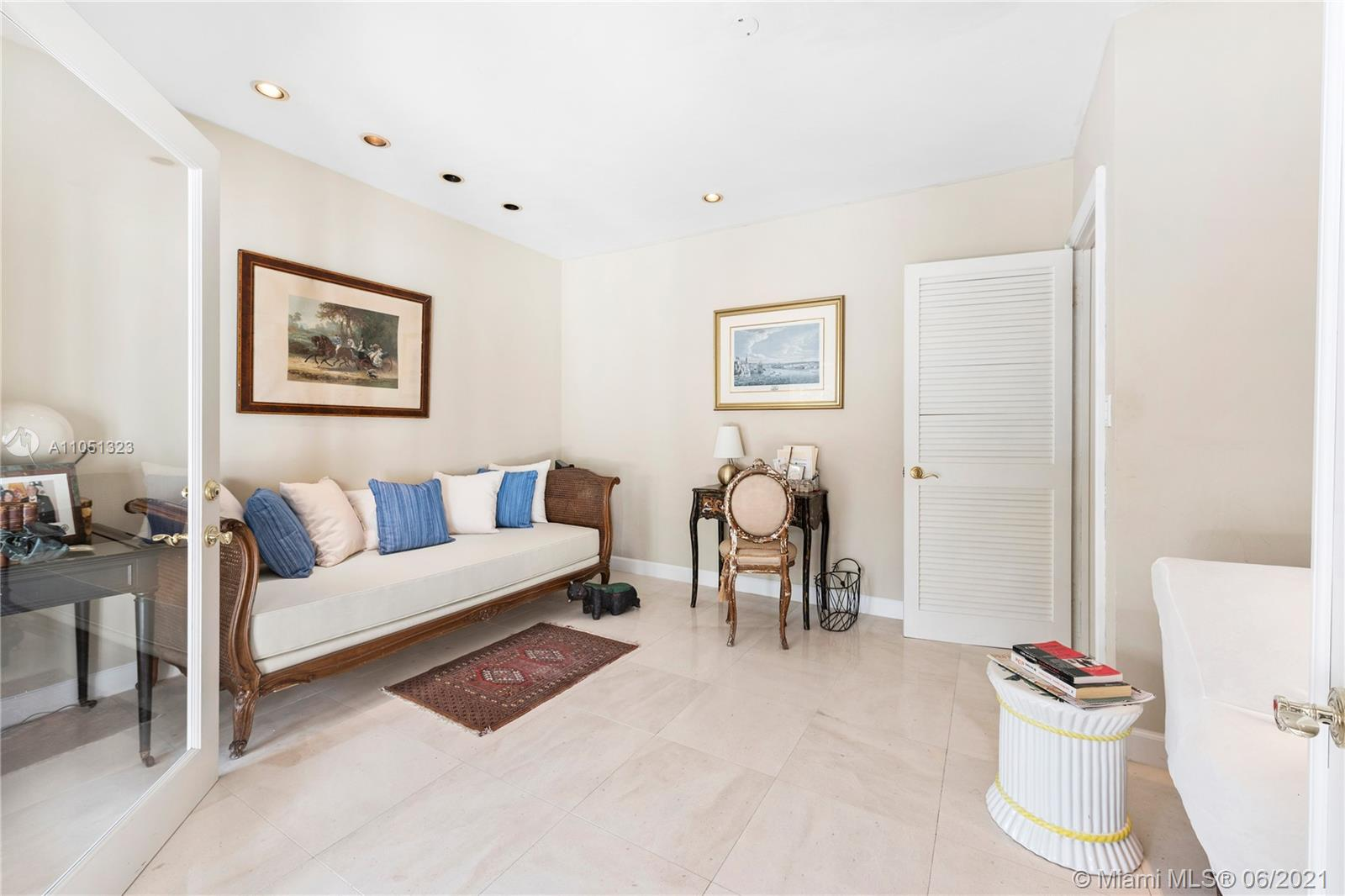 Rare, oversized lot in desirable Coral Gables neighborhood tucked away on a quiet street! Beautiful 1-story home with natural light throughout and panoramic views of the large backyard. This home features 3 bedrooms and 3 full bathrooms with an additional 1bd/1ba maid's quarters. Enclosed Den overlooks the large pool. The poolroom/family room with a full en-suite bathroom can be converted to another bedroom or office. Seldom seen 17,600+ sqft. lot complete with fruit trees.