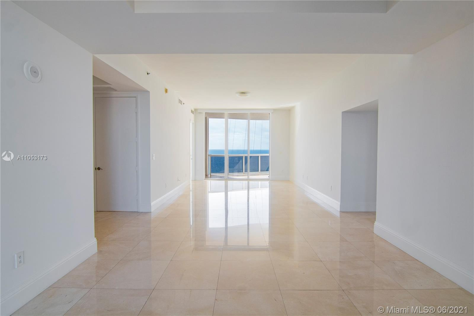 Stunning flow through unit at the prestigious Trump Tower III in Sunny Isles. Unit 1206 offers unparalleled ocean and intracoastal views, from a spacious and open floor plan, throughout it`s 2,600 square feet of pure luxury living spaces. Unit offers marble floors throughout and many great upgrades, such as, electric blinds in all rooms, recessed lighting and nest technology system. Enjoy endless summer days in this resort oriented property that contemplates a great beach club and oceanfront restaurant, oceanfront gym and negative infinity oceanfront pool and 24 hours concierge services.