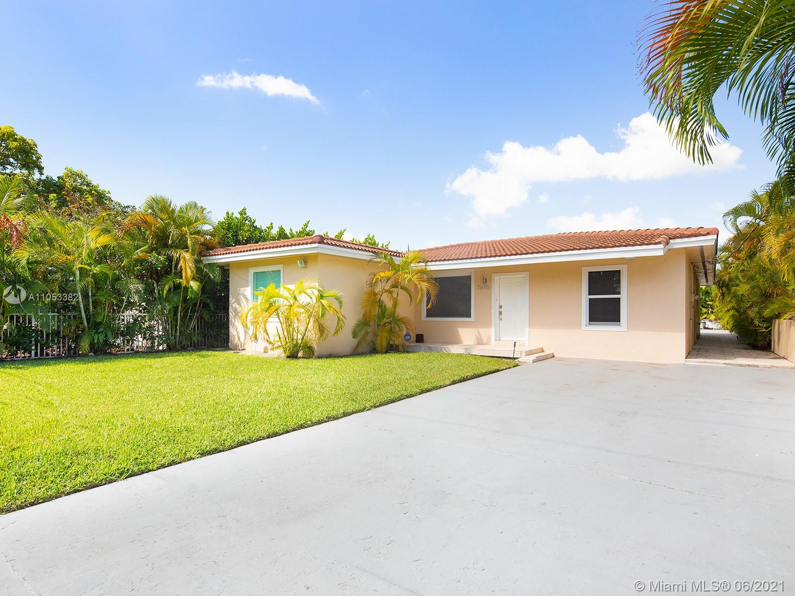 Do not miss the opportunity to own this charming and completely remodeled house located in a very peaceful area of Miami Beach. This residence features 4 bedrooms, 3 full bathrooms, an open kitchen completely remodeled with Italian cabinetry, and a spacious living & dining room area from where you can appreciate the peaceful view of the canal.In the back of the house you can enjoy a beautiful swimming pool while overlooking the bay, park your own boat and have access to the ocean with no fixed bridges.This residence is perfectly located in a very quiet area but just a few minutes from Bal Harbour Shops, South Beach, and tons of amazing restaurants.