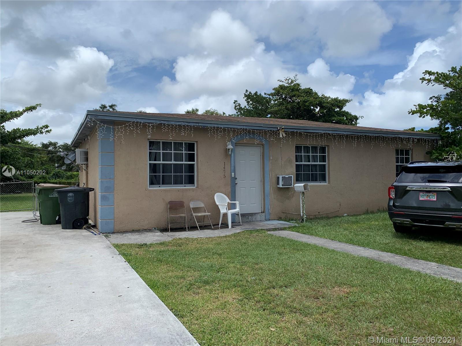 1475 NE 140th St  For Sale A11050202, FL