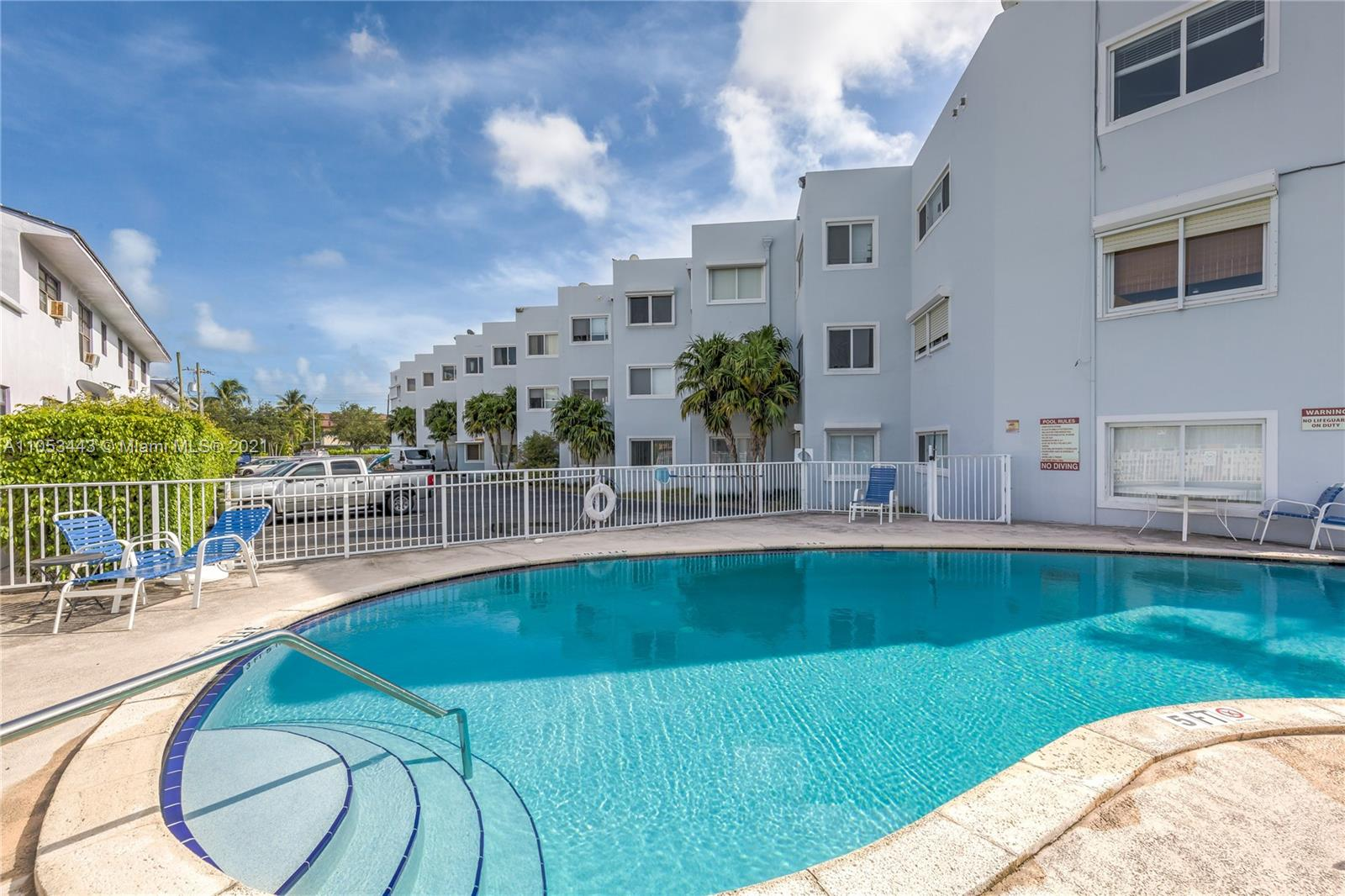 Spacious 2 BED/ 2 BATH condo in lovely gated community in the heart of Miami Beach on the intracoastal waterway located at Normandy Isle!! 1 assigned gated parking space plus plenty of street parking. Gorgeous pool and BBQ overlooking the water with tropical landscaping on the intracoastal waterway. Laundry on site, close to beach, shopping and restaurant. Great schools, shopping and less than a mile from the sand. Tenant is moving on August 1st. A Beautiful Miami Home.