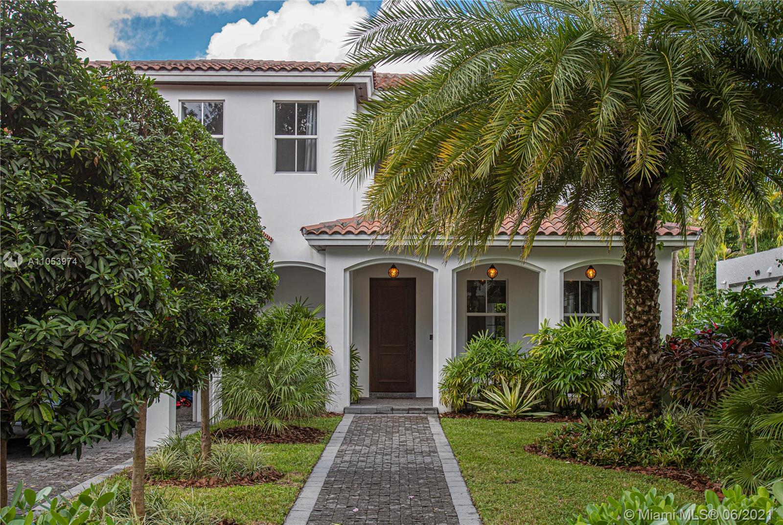 SPECTACULAR HOME  in the heart of Coral Gables, nearby historic Granada Golf Course and the famous Biltmore Hotel, this 5 bedroom and 4 bathroom house is located on a beautiful quiet street, near great schools and the Miracle Mile district. This luxurious and comfortable house has an open kitchen floor plan with plenty of natural light all around, and a great pool with spa. No details spared. Furnished for sale.