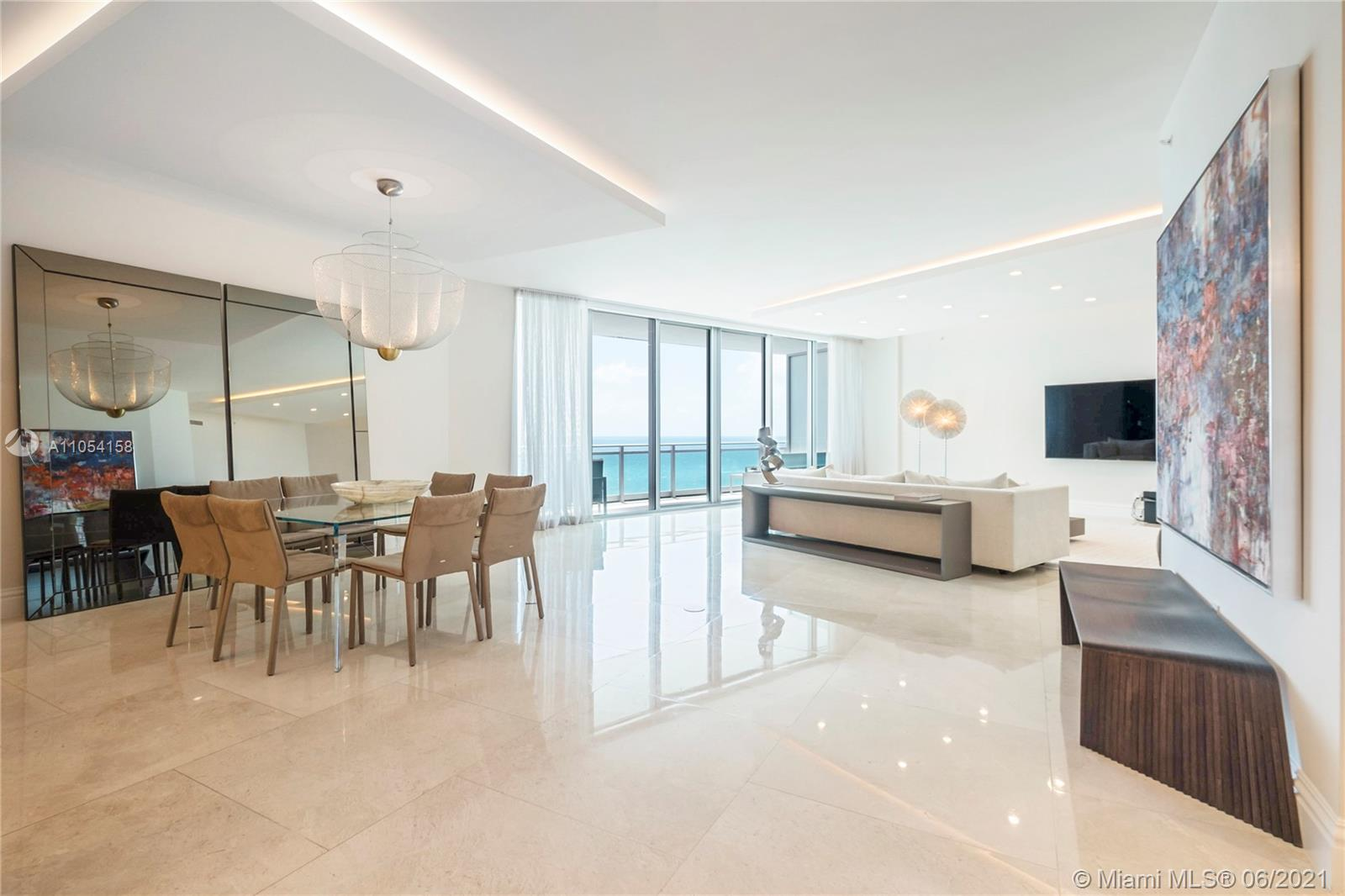 SPECTACULAR HIGH FLOOR DIRECT OCEAN RESIDENCE WITH SWEEPING INFINITY VIEW OF THE OCEAN AND INTRACOASTAL. FINISHED TO PERFECTION, IDEAL FOR ENTERTAINING.  ACCESS TO WORLD-CLASS RITZ CARLTON RESORT AMENITIES.