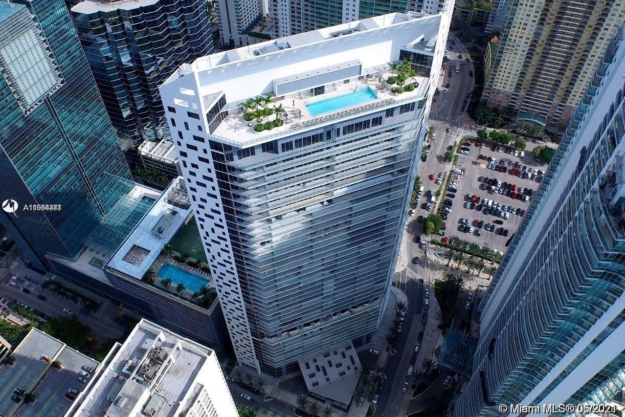 Magnificent brand new construction in the heart of Brickell! Unit features floor to ceiling windows, decorator ready floors, Euro kitchen, washer, and dryer. The building features state of the art amenities, valet, fitness center, 2 pools, robotic garage, concierge, family areas, steam room and sauna, massage treatment rooms, and business lounge.