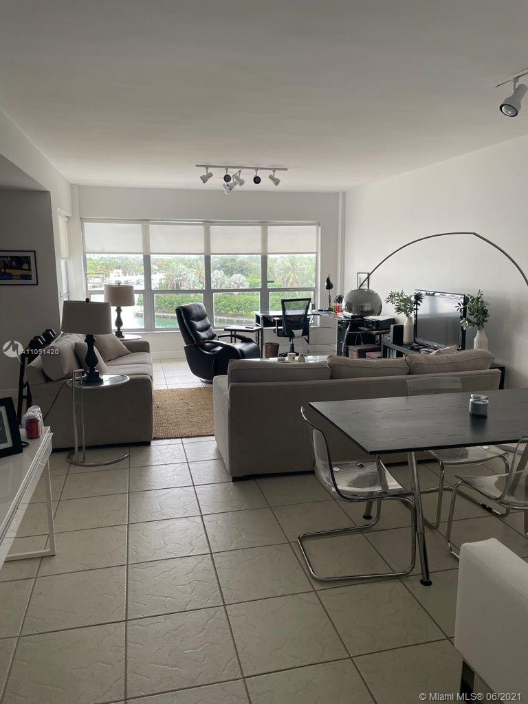 One bed room unit in Bay Harbor Islands. Iconic Blair House building with amazing views too indian Creek Island. Partially renovated. Please text to coordinate showing.
