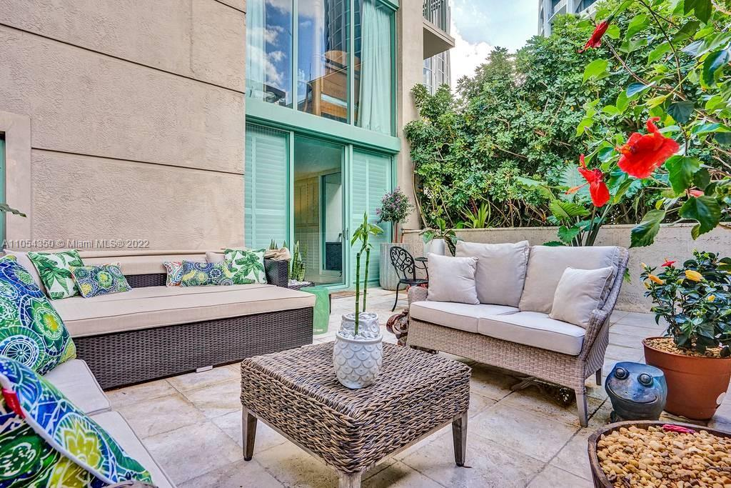 Beautiful furnished apartment in the fabulous Ritz-Carlton Residences in Coconut Grove, close to Coral Gables two blocks from Coconut Grove Shops and Restaurants. Available Nov & Dec. This unit features light marble floors throughout and fantastic outdoor terrace with a large private garden patio. One assigned parking and 2nd vehicle can be Valet parked. Wi-Fi and internet included. Lots of amenities to enjoy... Gym restaurant Bar and Poolside Café.