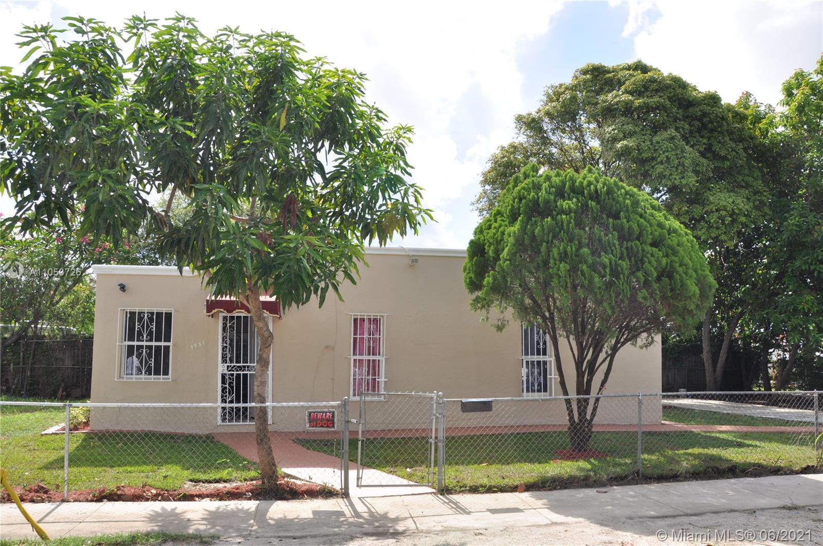 7951 NW 4th Ave  For Sale A11053726, FL