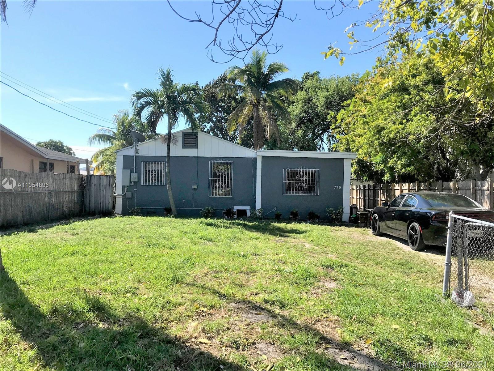"""3/2 SFH located in """"Opportunity Zone"""" with lots of potential , central A/C, large yard, across from Police Department. Section 8 Tenants, please do not disturb tenants, by appointment only."""