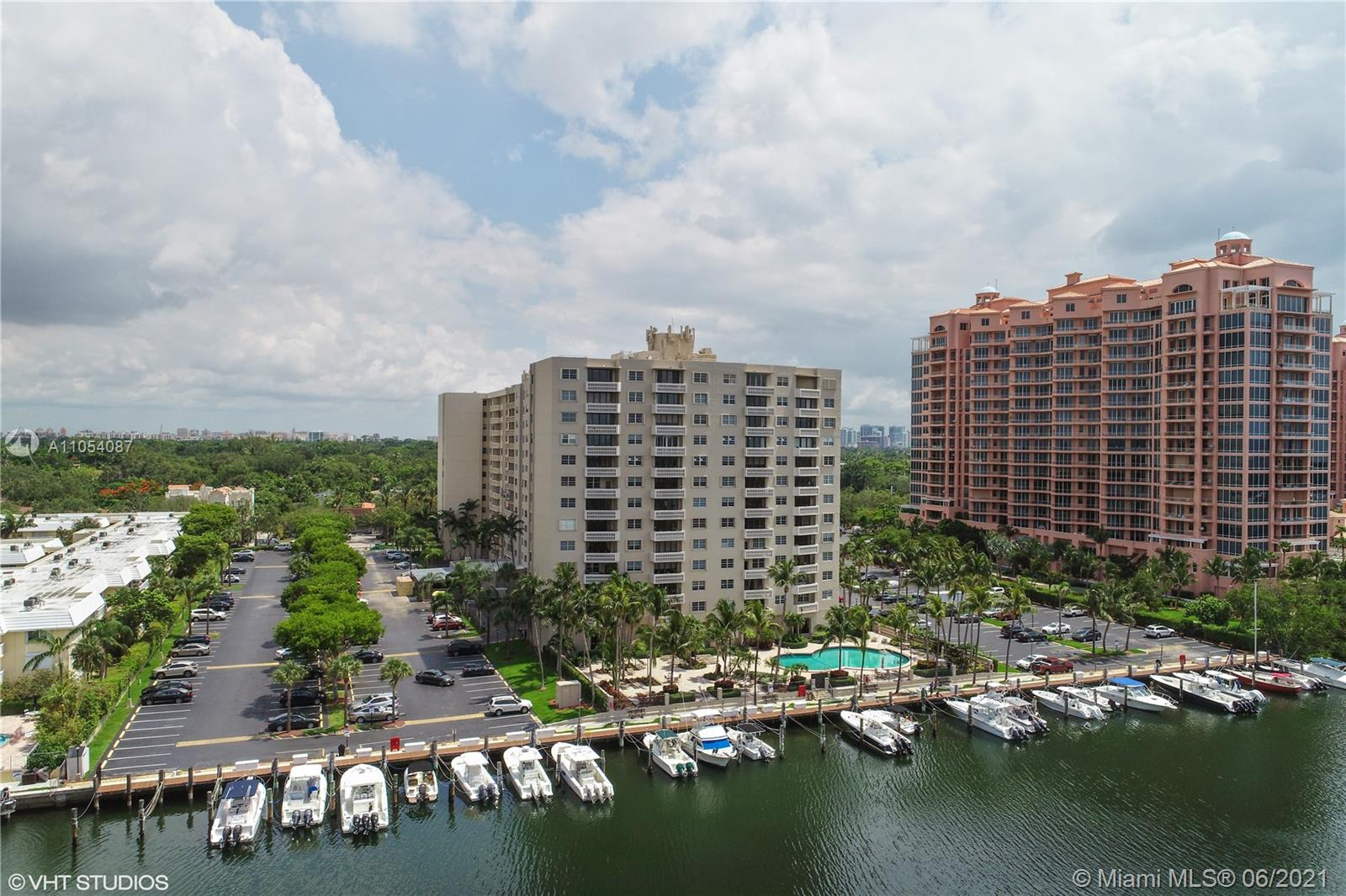 Gables Waterway Towers is a well established doorman building with 24/7 valet and security. The building just completed a major $8.5 million renovation, which also included our 40 & 50 year  Miami Dade Recertification improvements to mechanical and safety code updates for the building. Unit owners now approved to add in unit washer/dryers with proper permitting and approval. Situated on the bay just 1.5 miles from Downtown Coconut Grove, and close to UM, South Miami and Downtown Coral Gables and the Miami Airport. Our heated pool and gym, Party and game room face the bay, with boat slips that come up for sale or rent. There is a current assessment of $ 19,200 that will be paid at closing by the seller. Tenant occupied on month to month basis.