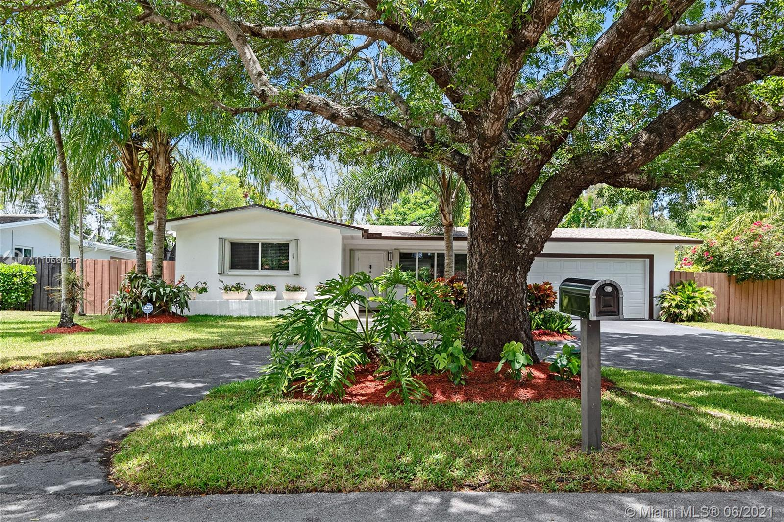 CENTRALLY LOCATED SOUTH MIAMI HOME, CLOSE TO CORAL GABLES, UNIVERSITY OF MIAMI, SOUTH MIAMI HOSPITAL AND PALMETTO EXPRESSWAY. BIG FENCED LOT - 12,000 SF WITH SPACE TO PARK A BOAT ON THE SIDE. COMPLETELY RENOVATED, INCLUDES 1 YEAR OLD ROOF & GUTTERS, NEW ELECTRICITY, NEW POOL, DIAMOND BRIGHT, NEW LED POOL LIGHT TO ENJOY A RAINBOW POOL AT NIGHT, NEW LATEX DECK, NEW NATURAL GAS LINE BIG ENOUGH TO HOLD A GENERATOR THAT POWERS THE WHOLE HOUSE + POOL. TANKLESS GAS WATER HEATER. VERY OPEN FLOOR PLAN WHICH OPENS TO POOL AREA, REALLY BRIGHT & LIGHT. NEW MASTER BATHROOM, NEW REFRIGERATOR, NEW MICROWAVE, 2 YEAR OLD RANGE, RECESSED LIGHTING, FRESHLY PAINTED WITH SPECIAL POINT THAT CAN BE PRESSURE WASHED AND MANY MORE GREAT THINGS, TOO MANY TO MENTION.