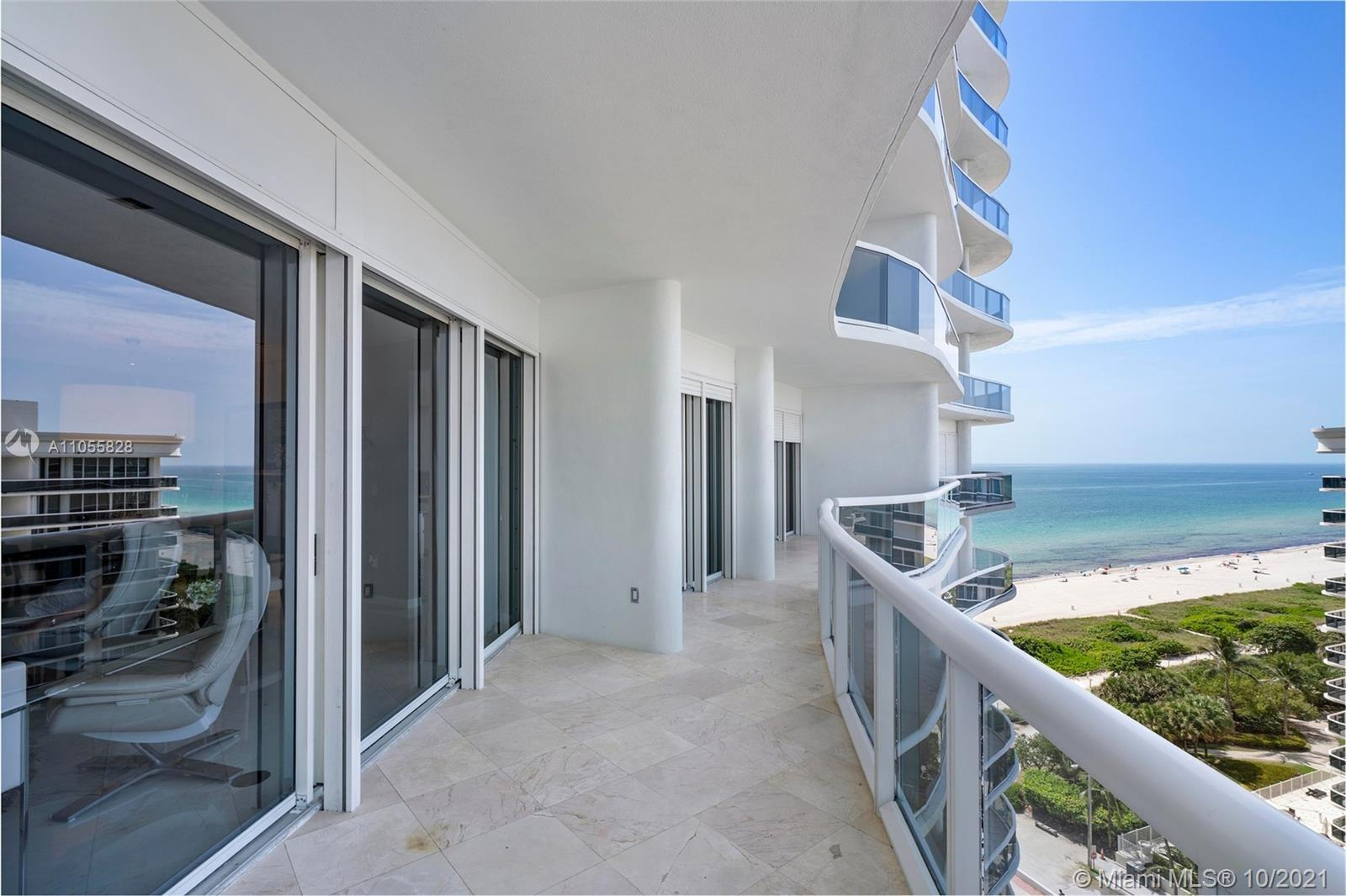 Bright and airy designer upgraded 2 Bedroom / 2.5 Bathroom in full service Majestic Towers. Apartment is equipped for the most discerning client. Enjoy spectacular views of the beach and city from this full service building with great Spa and fitness center, gourmet restaurant, full service pool and private beach. The Majestic Towers is just across from the most exclusive Bal Harbour Shops and Restaurants.