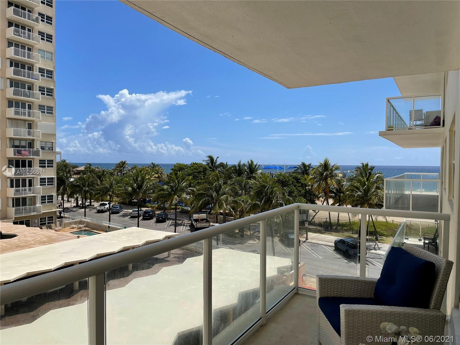 """AMAZING VIEWS FROM THIS UNIT, IN ONE OF THE BEST BUILDINGS IN THE POMPANO BEACH AREA """" SEA MONARCH"""", GREAT LOCATION FACING NORTH AND EXTRAORDINARY PLACES FOR ENTERTAINMENT, RESTAURANTS, THE POMPANO BEACH PIER OPEN TO THE PUBLIC AND RESIDENTS PERFECT FOR FISHING. SOON TO BE OPEN NEW HOTEL WITH ROOF TOP BAR . THE OVERSIZED BALCONY LETS YOU ENJOY THE MORNINGS WATCHING THE SUNRISE AND AMAZING EVENING SUNSETS IN THE AFTERNOON!!! COMPLETELY REMODELED LOBBY AND COMMON AREAS, GYM , SAUNA, LIBRARY ROOM WITH TECHNOLOGY CENTER, PARTY SALON WITH KITCHEN ON SITE, TV AVAILABLE FOR RESIDENTS IN THE PARTY SALON, GAME ROOM. YOU HAVE WIFI INTERNET AVAILABLE ON THE LOBBY AND COMMON AREAS. TV AND WIFI INTERNET IS INCLUDED IN MAINTENANCE FEE, SERVICE IS PROVIDED BY HOTWIRE FIBER OPTIC LAST TECHNOLOGY."""