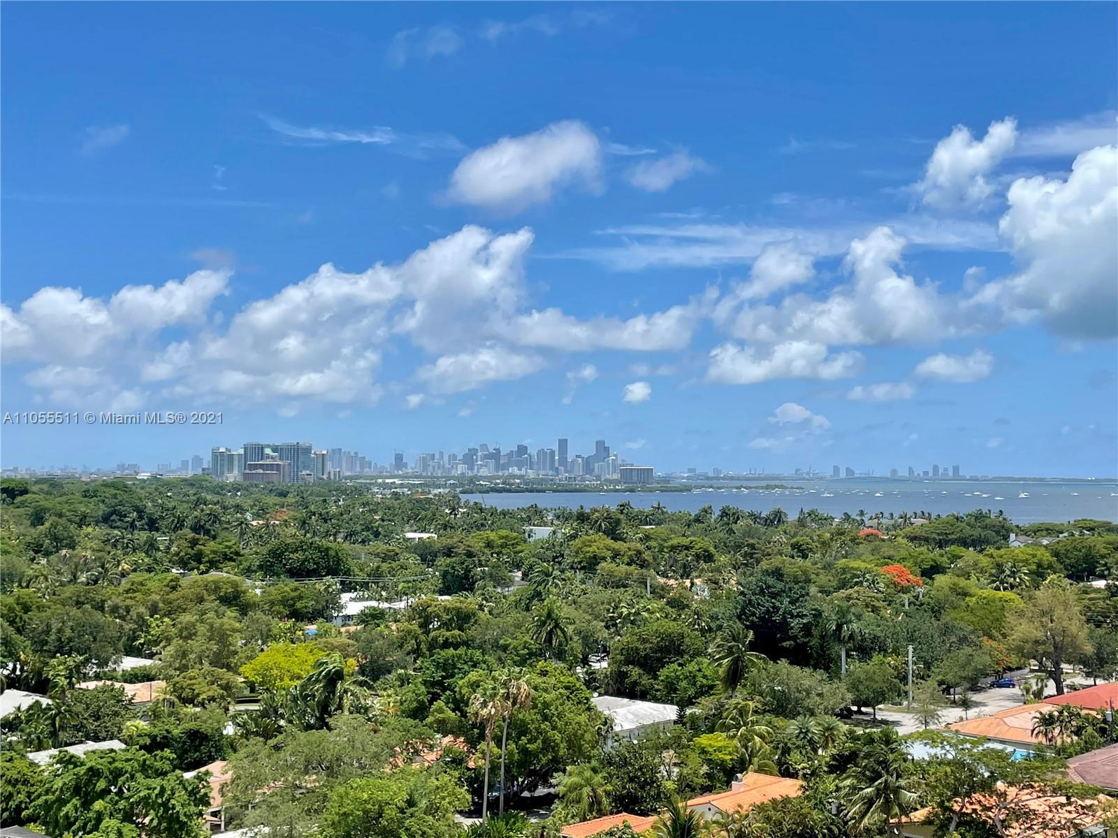 A rare opportunity! 1 of 4 Corner Penthouse units at Gables Waterway Towers. Located on the 13th floor featuring 2 beds / 2.5 baths with 10ft ceilings. 40 yr certification PASSED 4 months ago. Plans to renovate are approved by the City of Coral Gables. Boat docks can be bought & rented as they become available with no bridge to bay! Built in 1969. Only 13 floors in safe & secure prestigious Coral Gables Waterway. Washer/Dryer can be installed inside the apartment (has to be ventless). Easy to show, vacant! See broker remarks to set up appointments.
