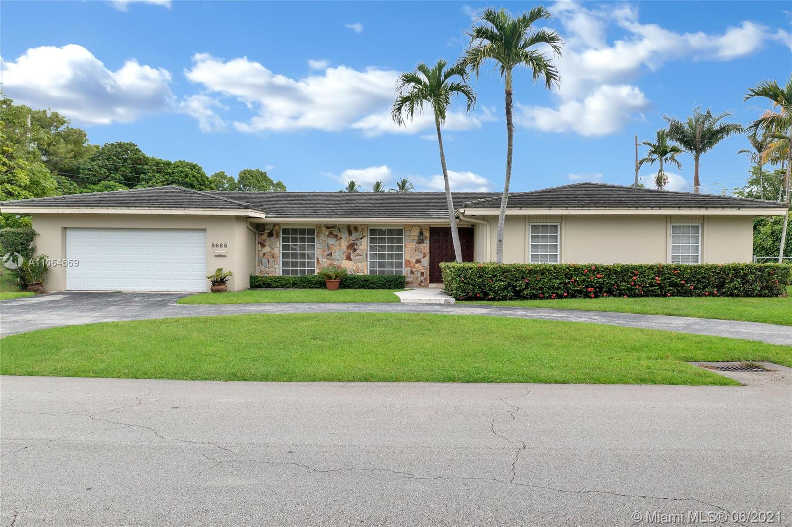 ****** MOTIVATED SELLERS -  OPEN TO OFFERS!!!!!!********Location, Location, Location!!!  Highly desired area in South Miami/High Pines, 3/3 home on corner lot.  Close to  Dante Fascell Park, Epiphany Church, Our Lady of Lourdes, Downtown South Miami, Temple Beth-Am, St.Thomas Episcopal School,  and only about 10 minutes to Merrick Park or 5 minutes to Dadeland. Large spacious floor plan sits on large corner lot with plenty of room for a pool.  Two car garage with large circular driveway. This home can easily be updated to become your dream home in one of the most sough-after locations in Miami-Dade County. Square footage is larger than the tax roll according to seller. Showing Assist or call listing agent for showings.