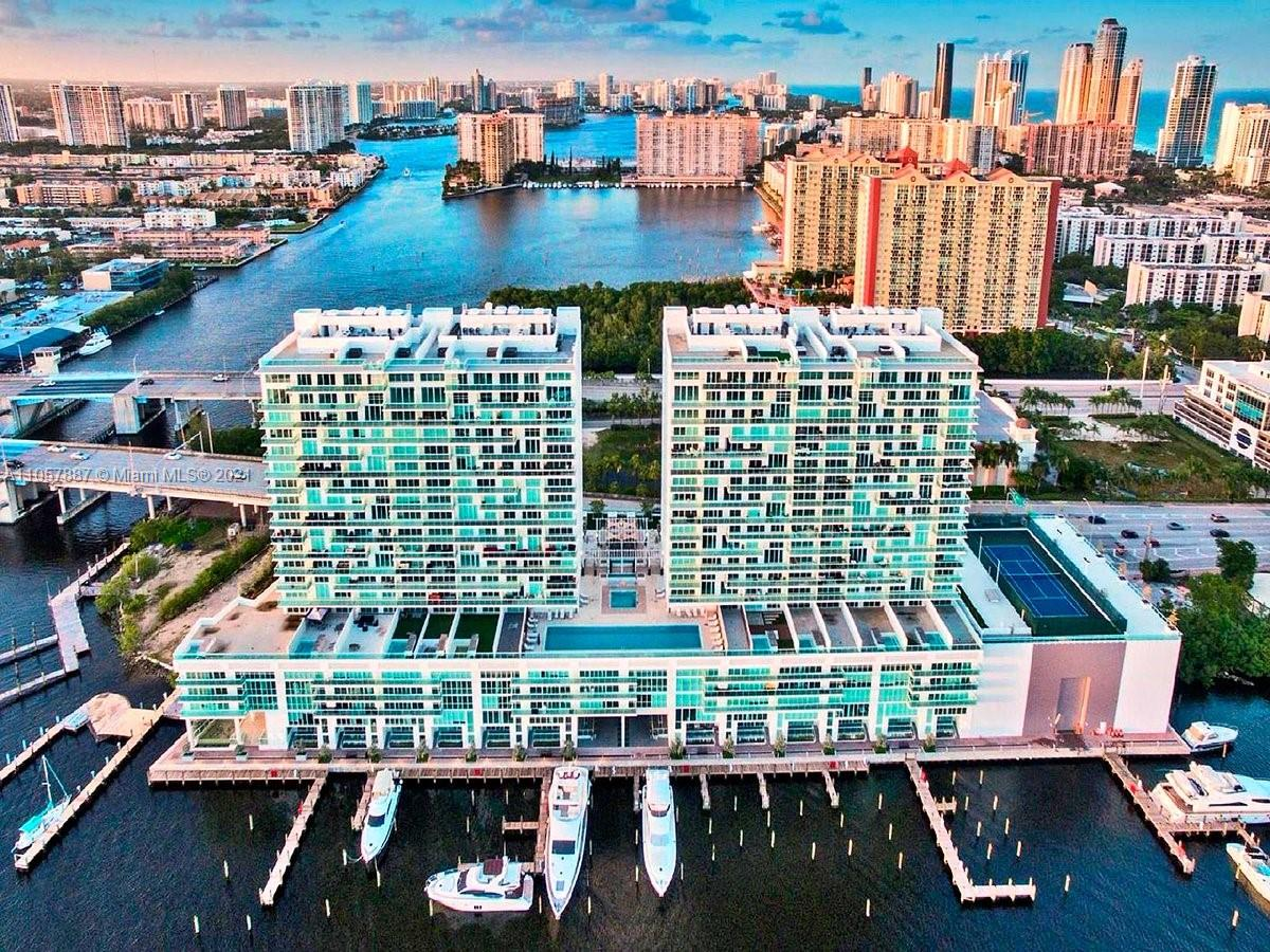 Unique opportunity to own a residence with private oversized terrace overlooking to amazing bay and mangrove park. 400 Sunny Isles is a remarkable new condo complex built along the intercoastal in Sunny Isles Beach, Florida. Luxury residence features 2bedroom , 2bathroom open kitchen with Italian cabinets, stainless steal appliances, porcelain floors throughout, floor to ceiling windows, custom made walk in closets. . Walking distance to the beach , private marina with both wet and dry docks available. State of the art amenities include pool overlooking bay, spa with sauna and steam room, jacuzzi, lounge areas, cabanas, restaurant for residents and more! great for investors - can be rented right away with  minimum of 3 months !!!