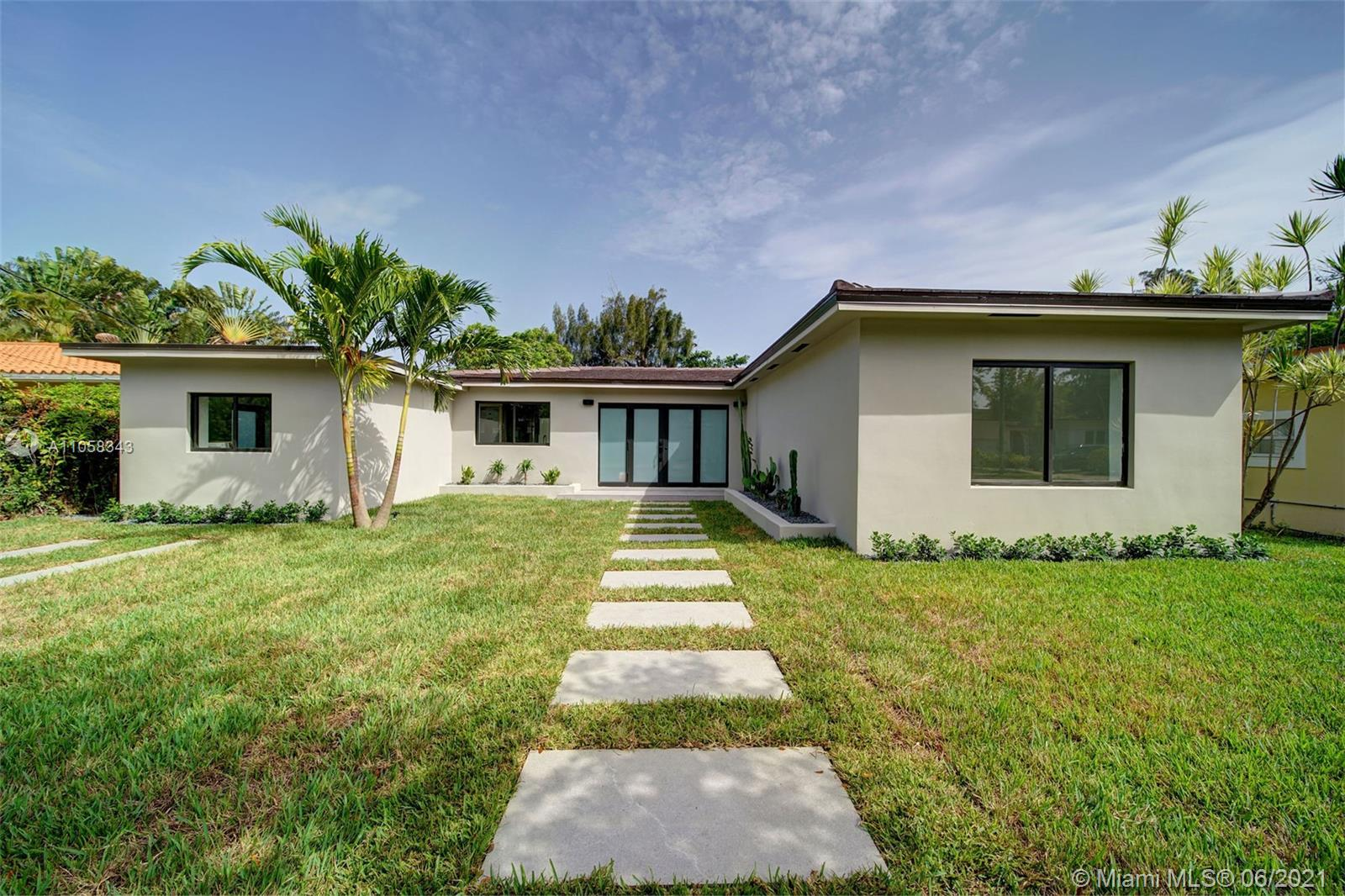 Located in the prestigious island of Normandy, this gorgeous house has been remodeled from top to bottom. No expenses have been spared. Custom cabinetry, italian kitchen, luxury appliances as well as stunning bathrooms. This 3 bedroom + den, 3 baths is an oasis in the middle of the city. The large backyard has an exquisite view on the golf course and plenty of room for a pool. The den can be used for laundry and/or storage. You can also have access to the community's amenities such as the pool, waterpark for kids, tennis courts ...